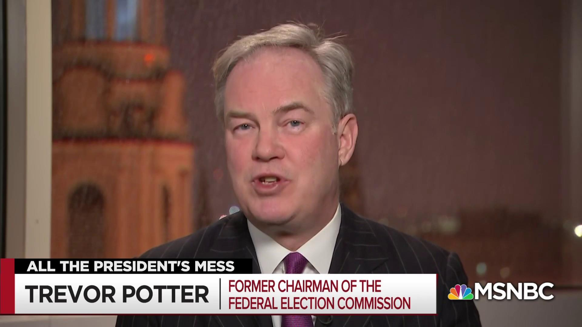 "Fmr. Federal Elections Chair: ""You just can't do that"""