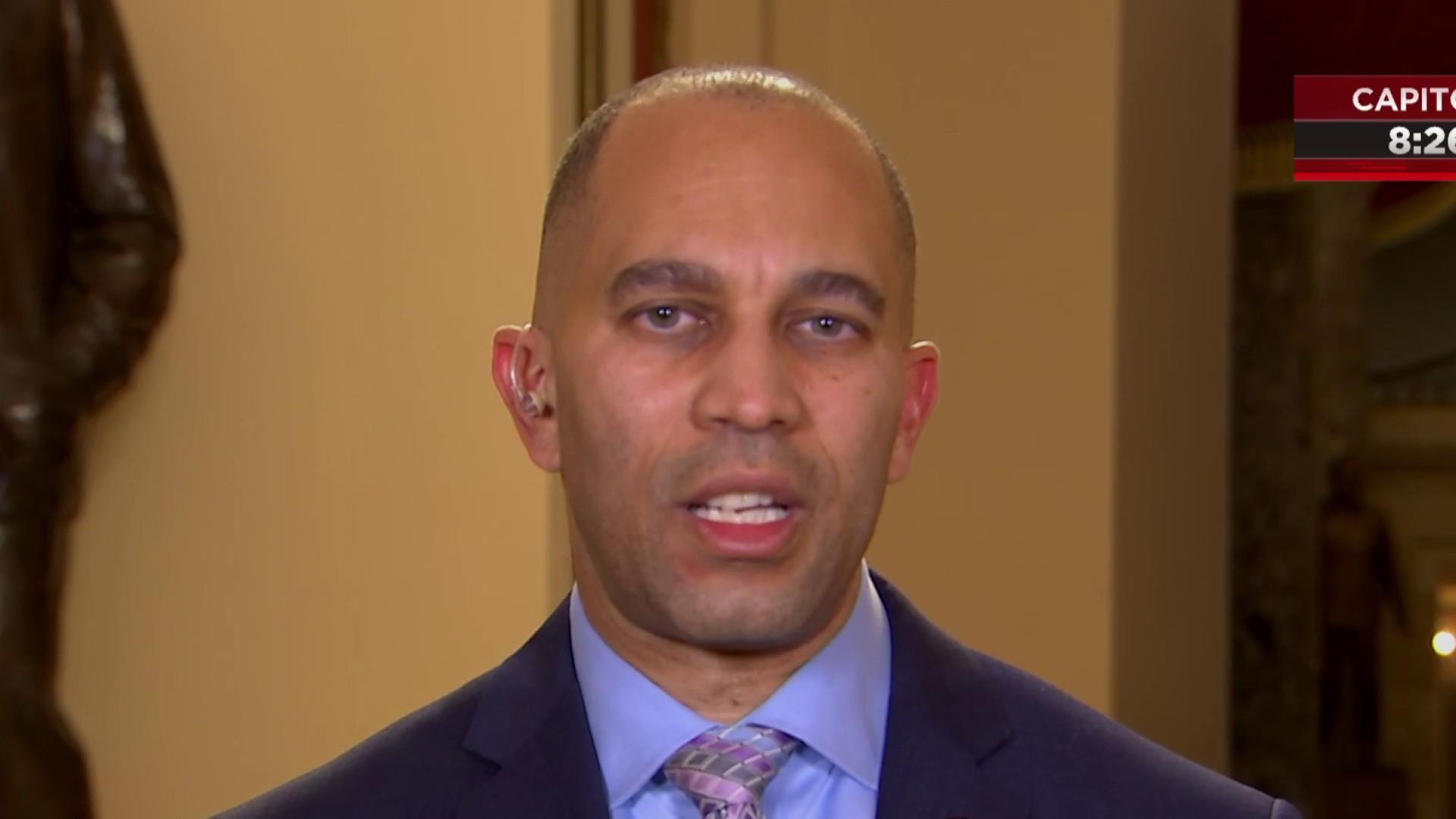 Rep. Jeffries: If Trump wants wall, 'negotiate with Mexico'