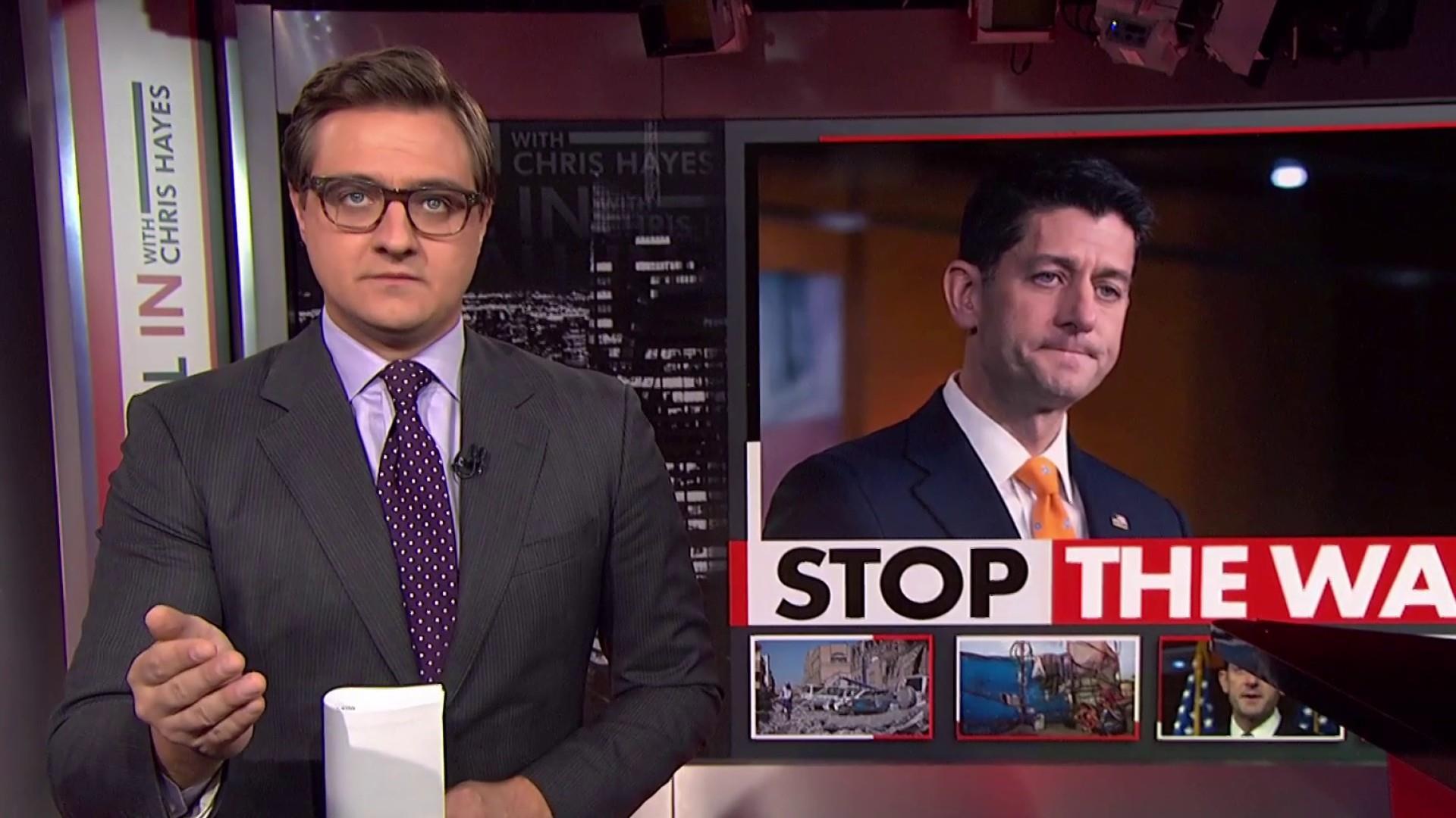 Paul Ryan's cowardly act on Yemen