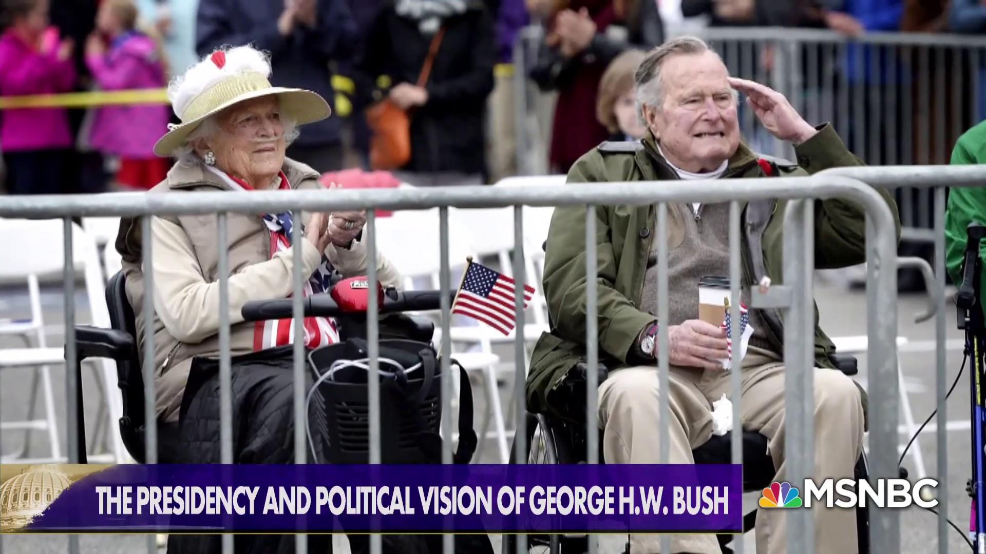 The kinder, gentler America: George H.W. Bush's vision for the country