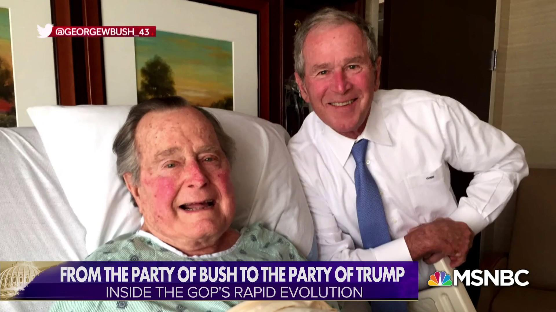 From the Party of Bush to the Party of Trump