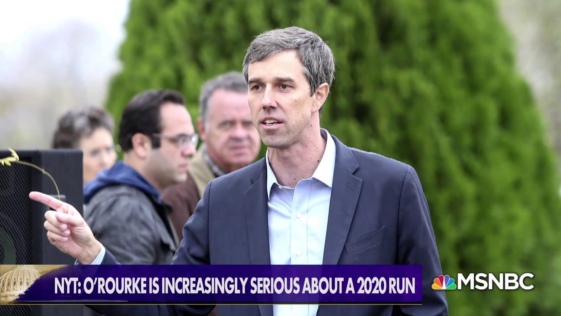 2020 presidential race: Comey won't run, O'Rourke increasingly serious
