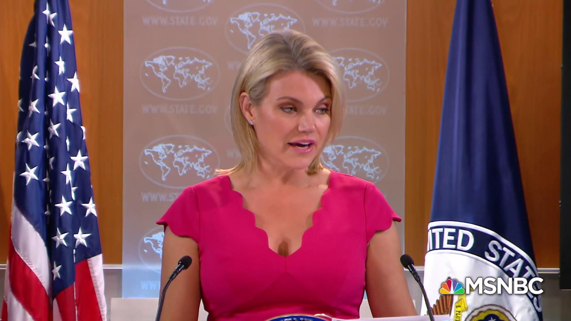 David Corn: I don't see Heather Nauert as having foundation you want in a U.N. ambassador