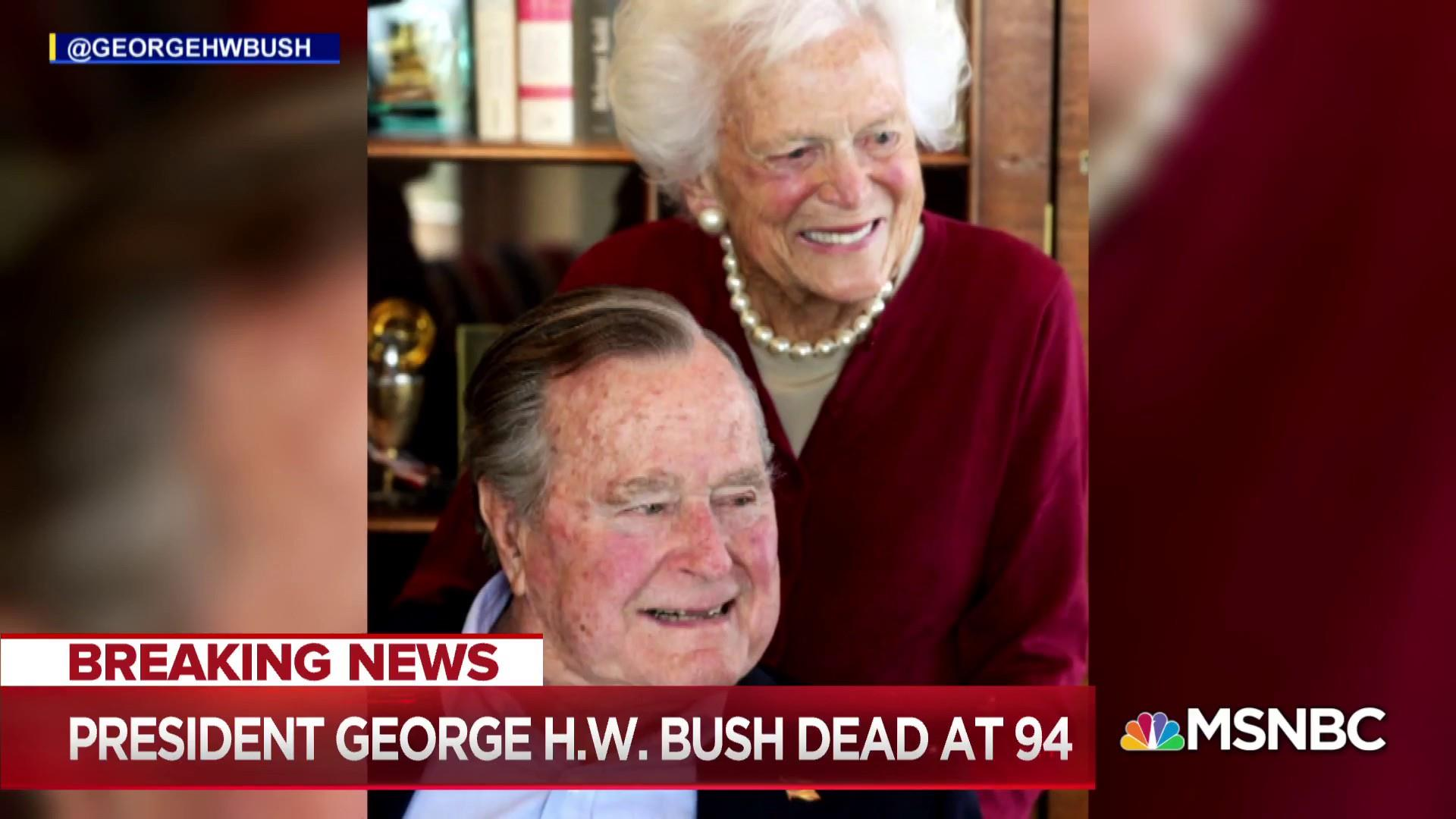 Andrea Mitchell: I think history will be very kind to George H.W. Bush.
