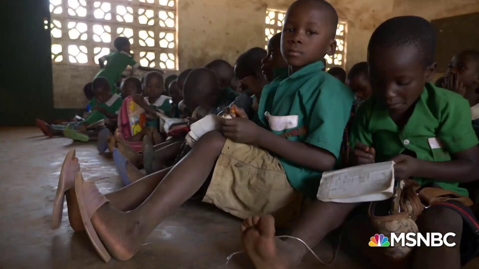 A big 'Zikomo' as Kids In Need of Desks crosses milestone