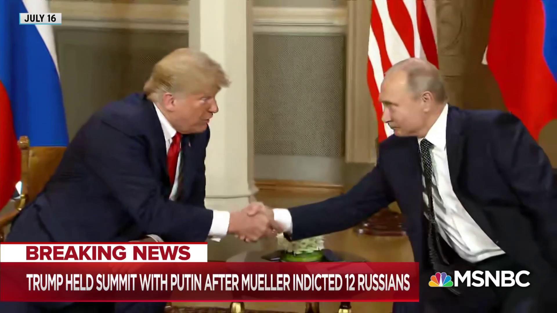 Mueller actions overshadow another planned Trump-Putin meeting
