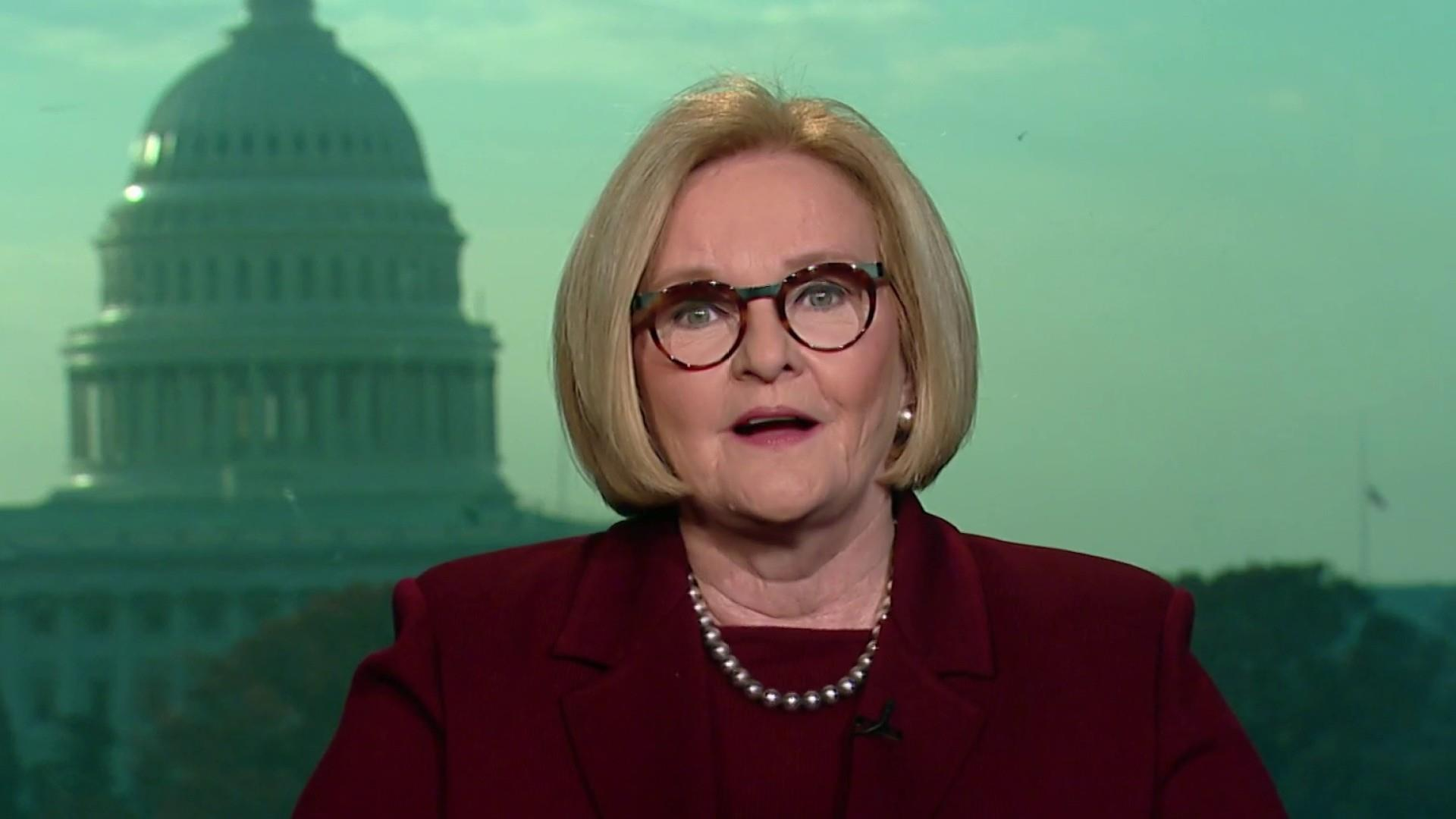 House Dems need discipline in new term: McCaskill