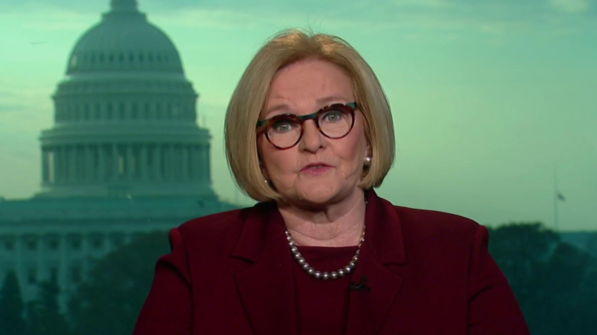 Leaving office, Sen. McCaskill weighs in on Trump and 2020