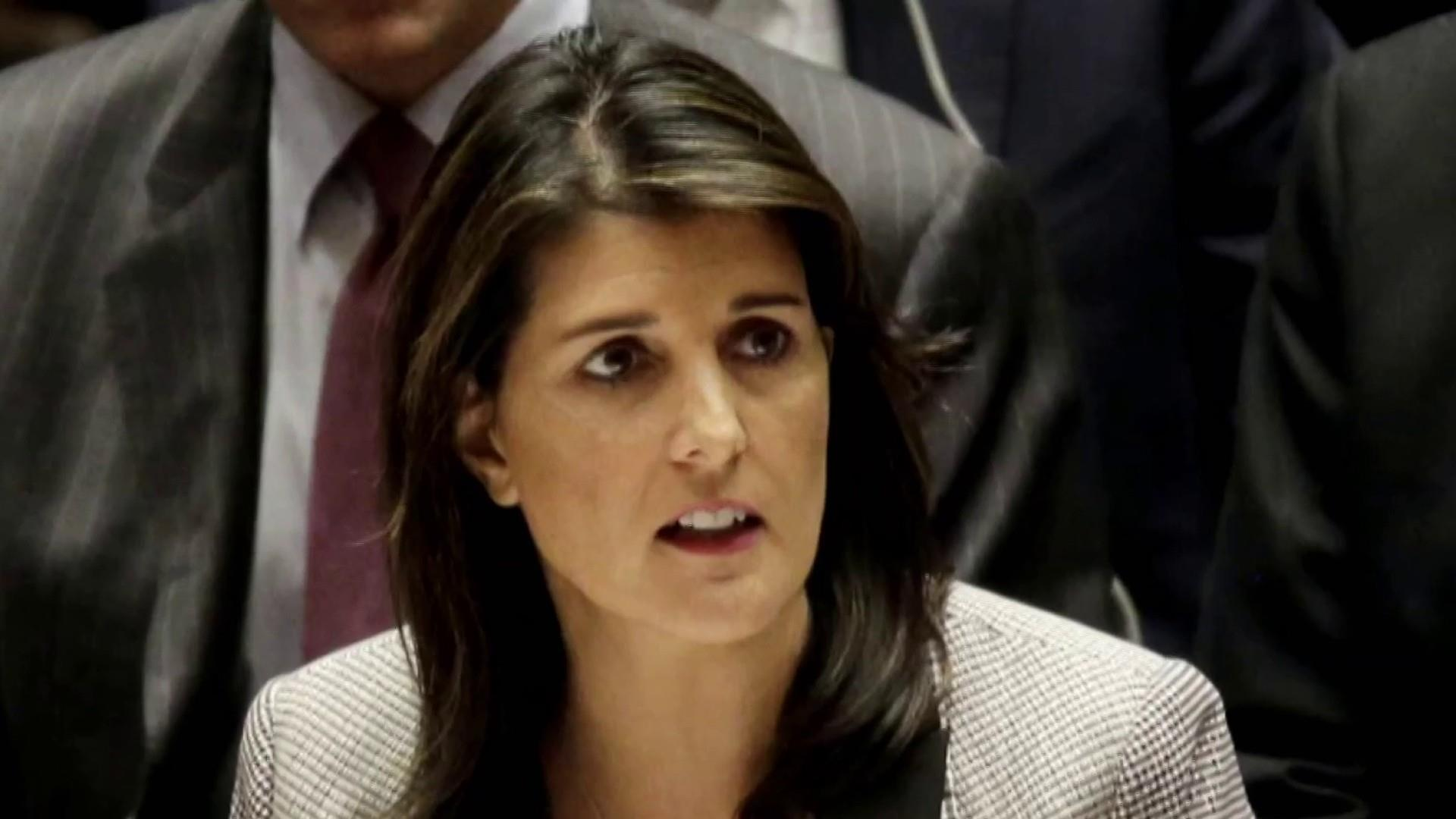 Nikki Haley opens up to The Atlantic