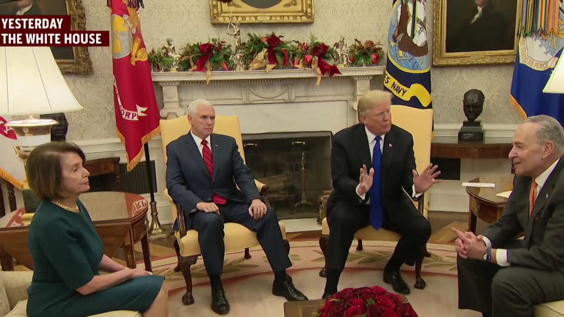Joe: Trump gives high ground away to Democrats