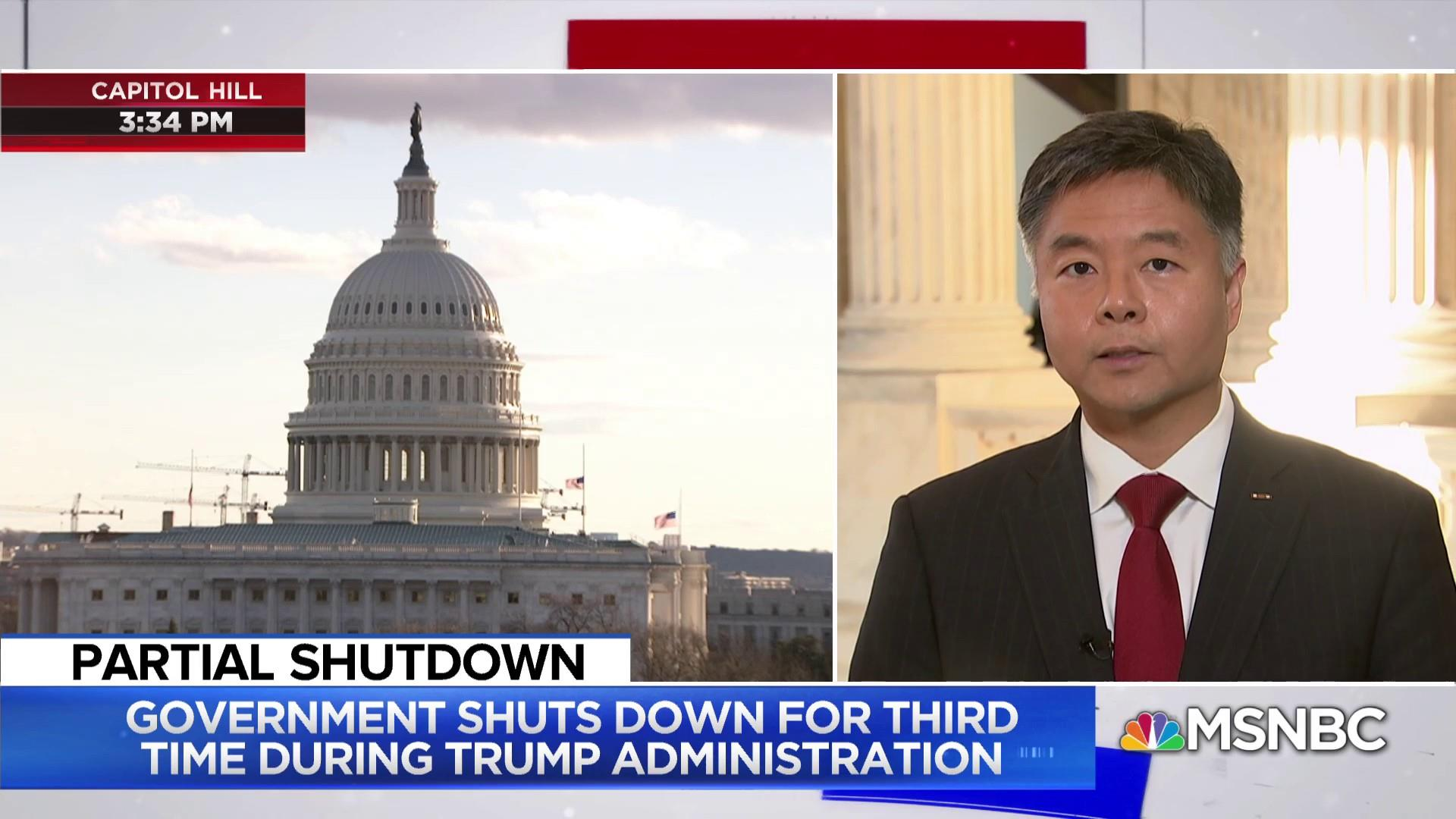 Rep. Ted Lieu: Border wall 'wasteful and inefficient'