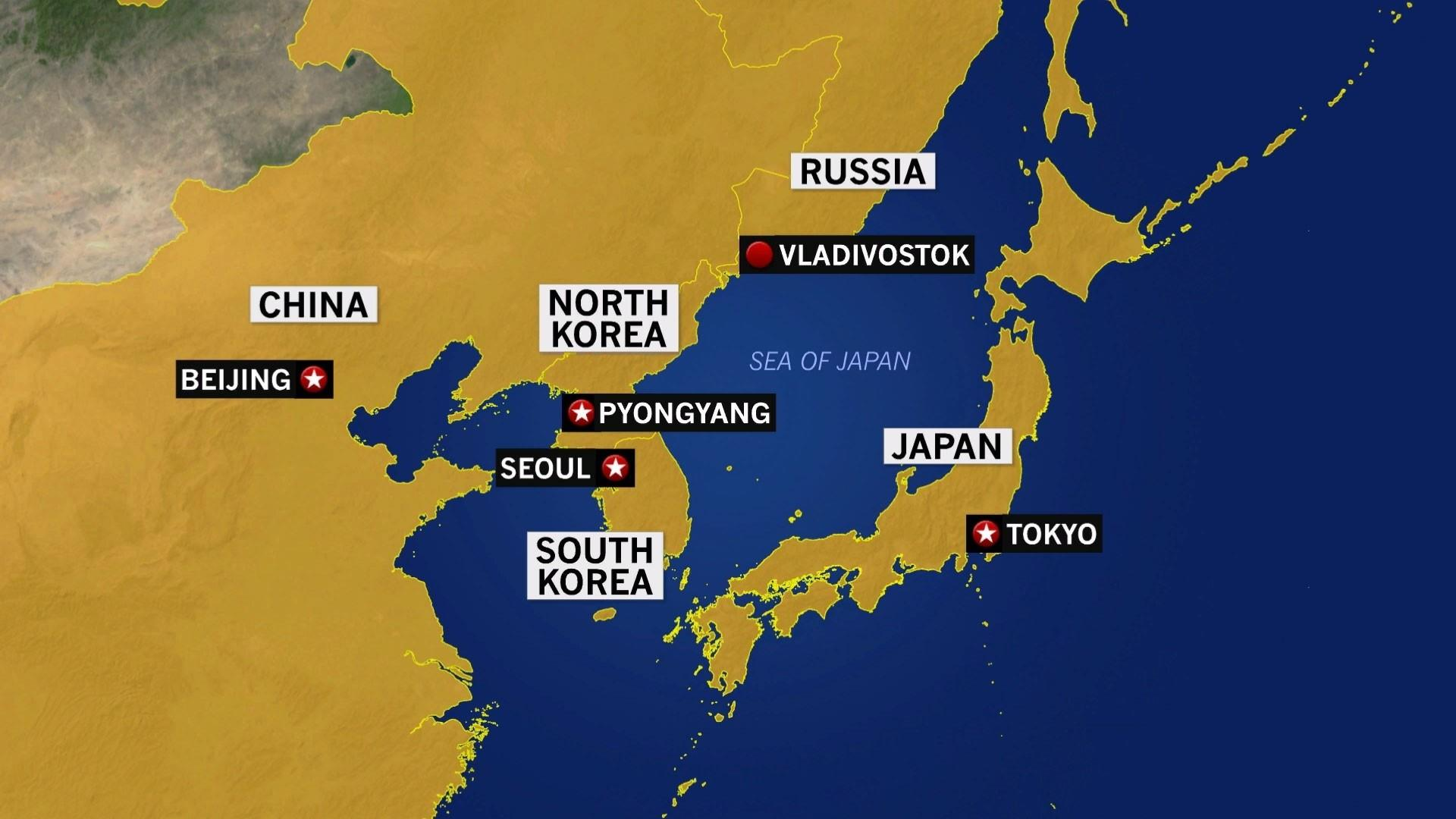 Navy sails missile near Russia-contested waters in Sea of Japan