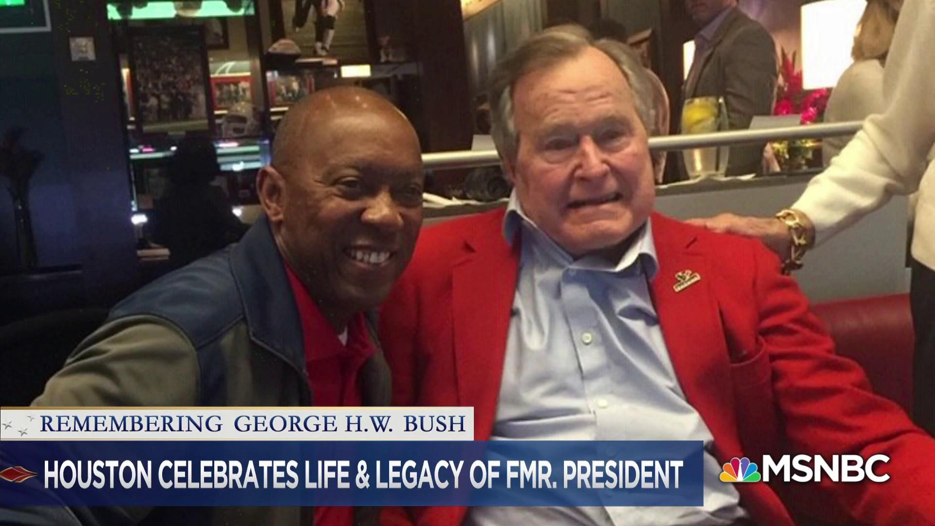 Houston's mayor describes what George H.W. Bush means to city