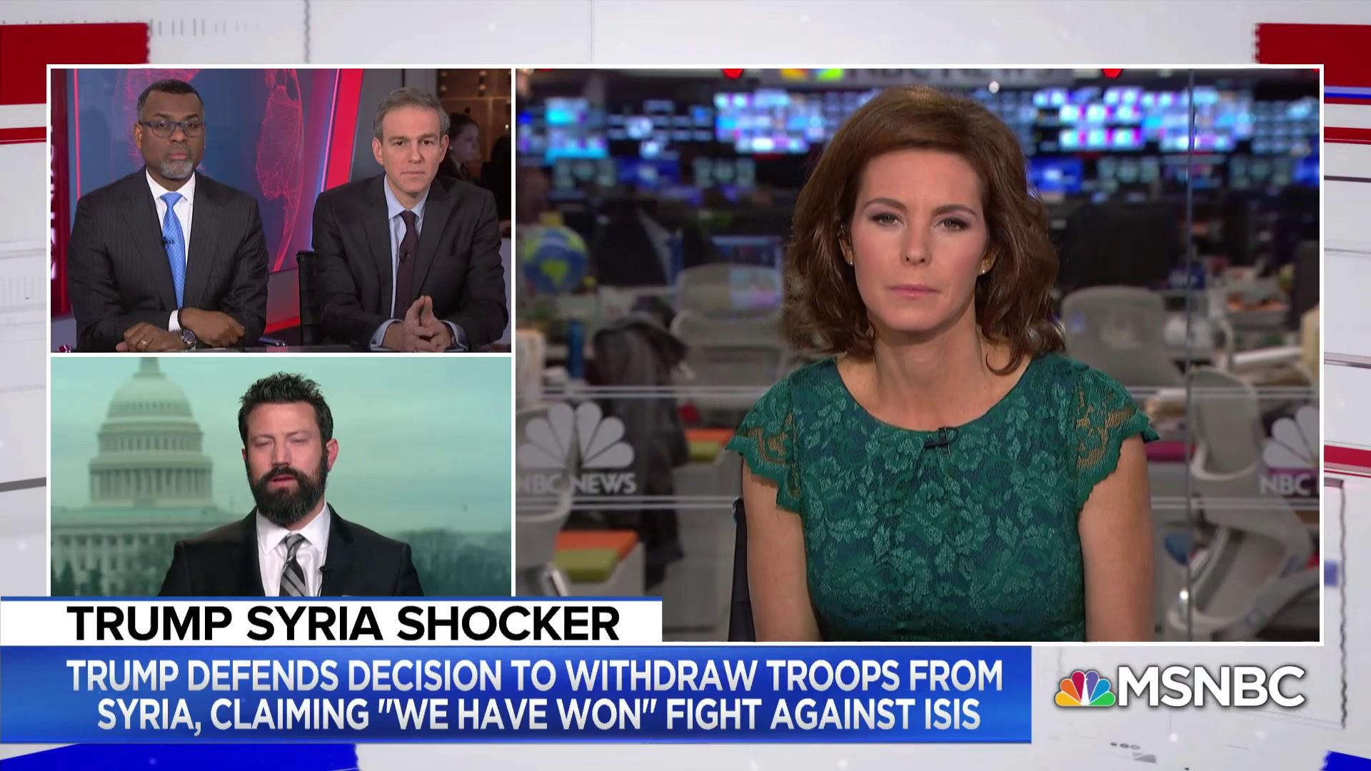 Kevin Baron on U.S. troop withdrawal from Syria: 'No one wanted this'