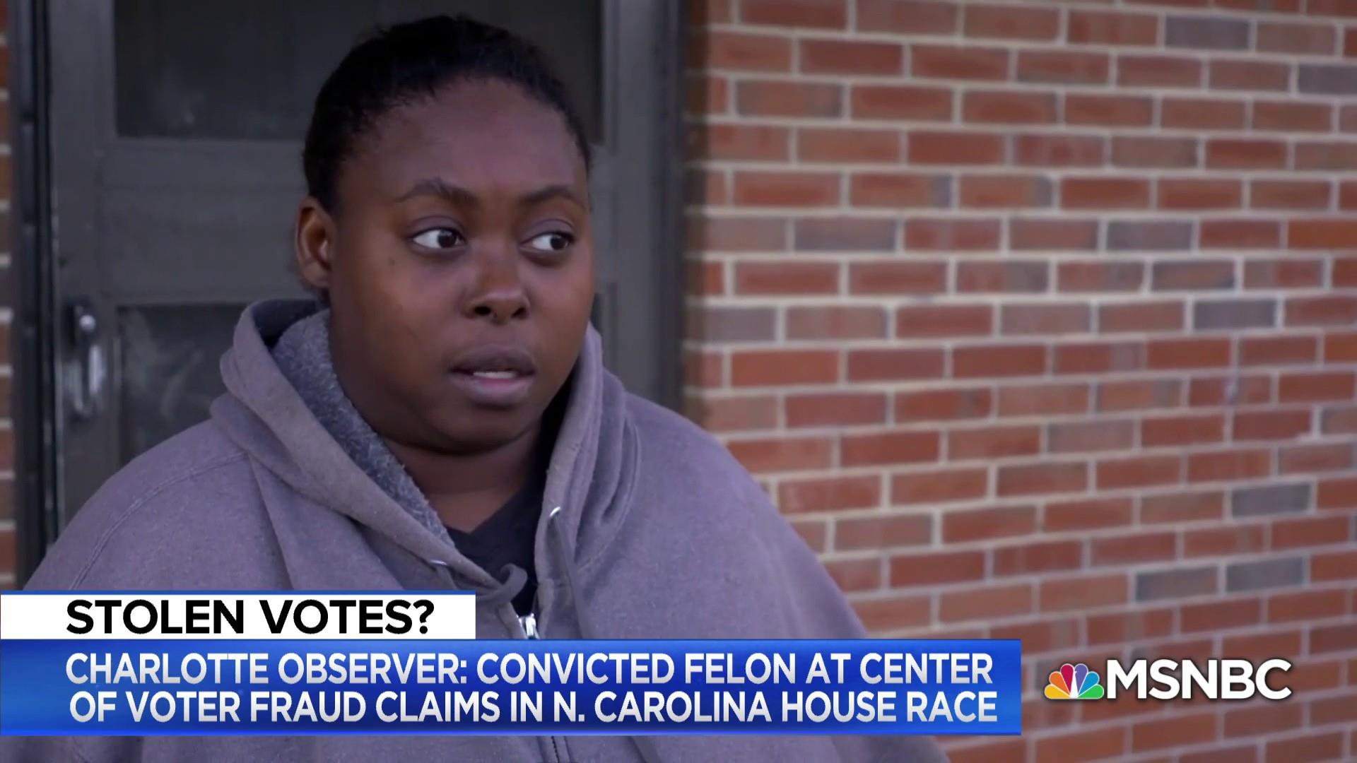 NC voter: Someone took my ballot