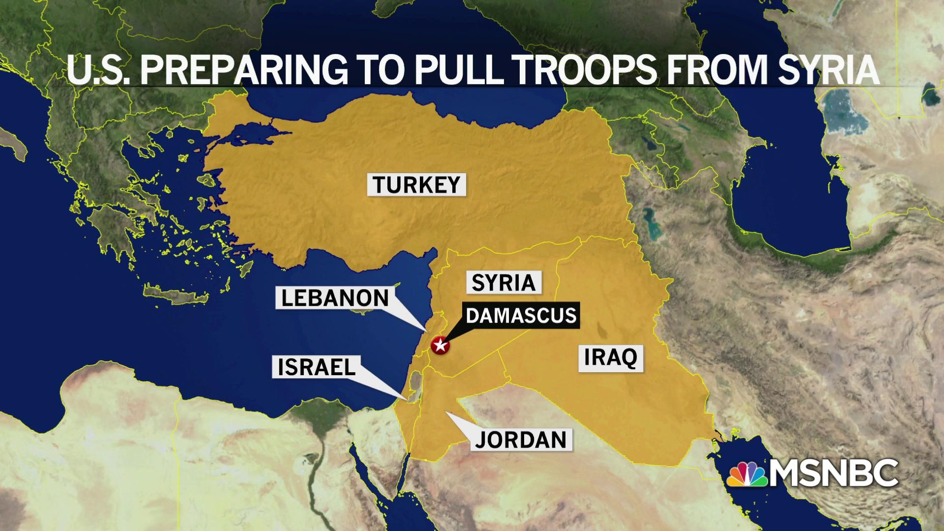 Why the U.S. still has troops in Syria