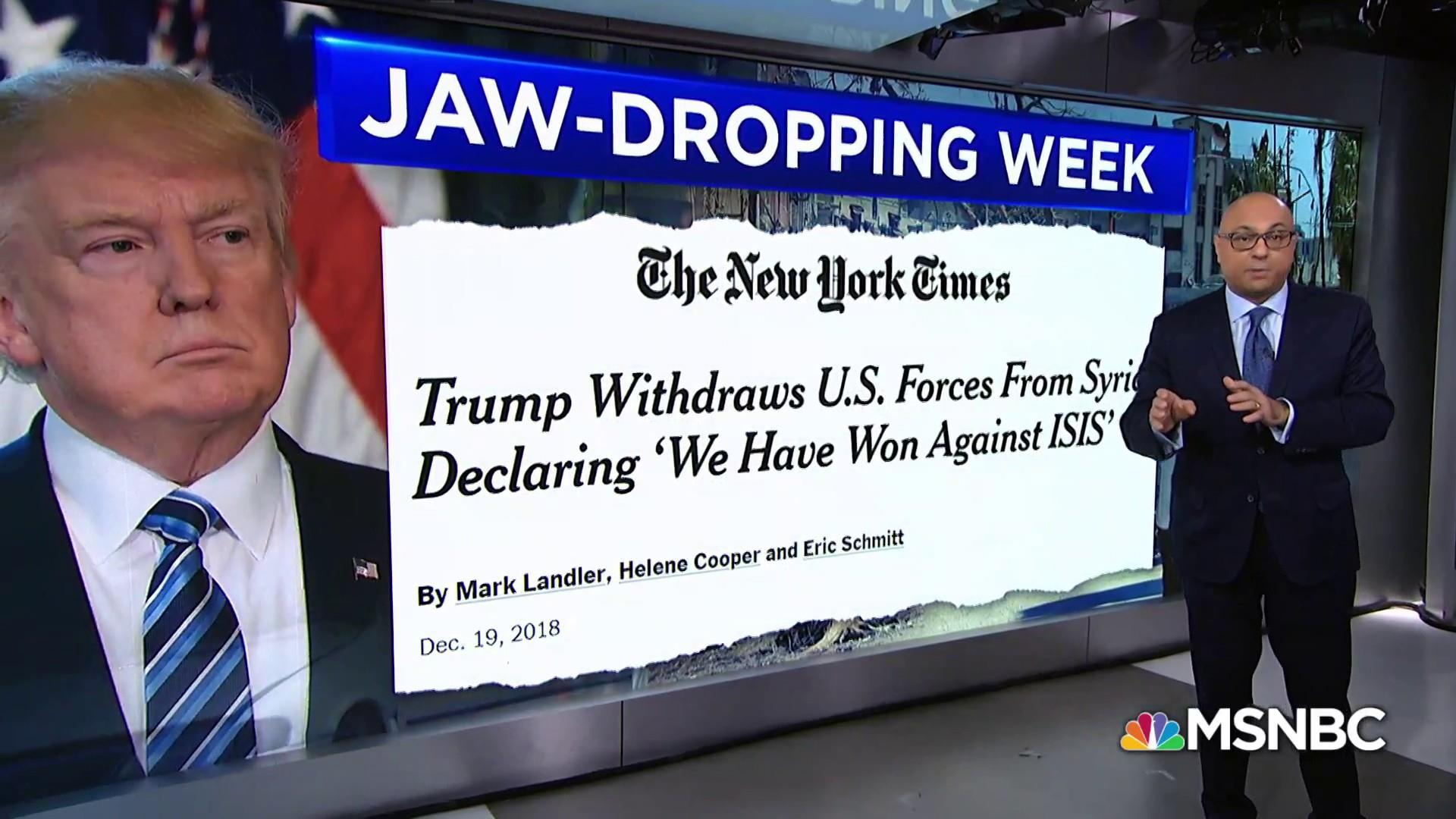 President Trump's unsettling week in headlines