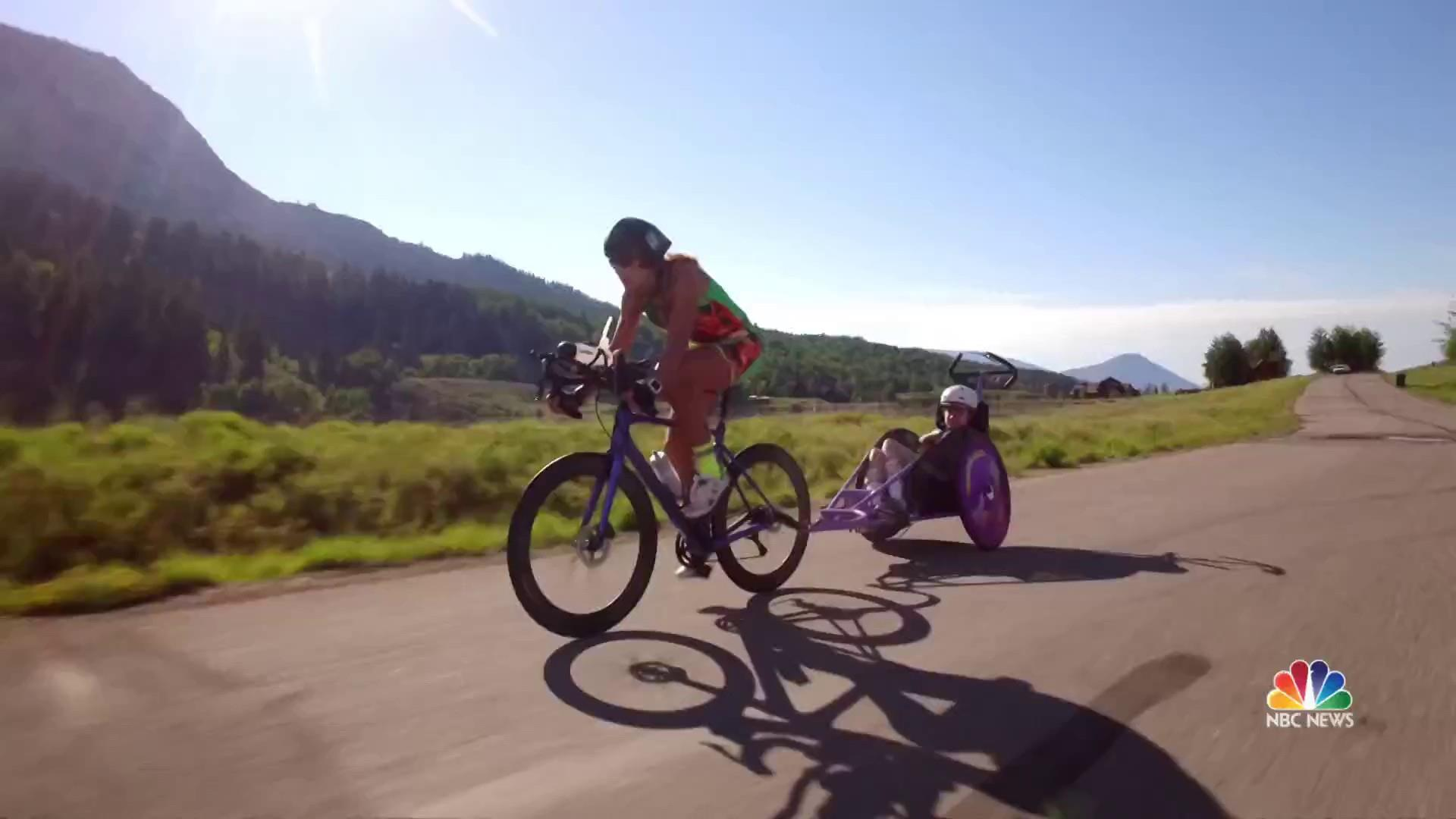 Mother-daughter team makes history at Ironman competition