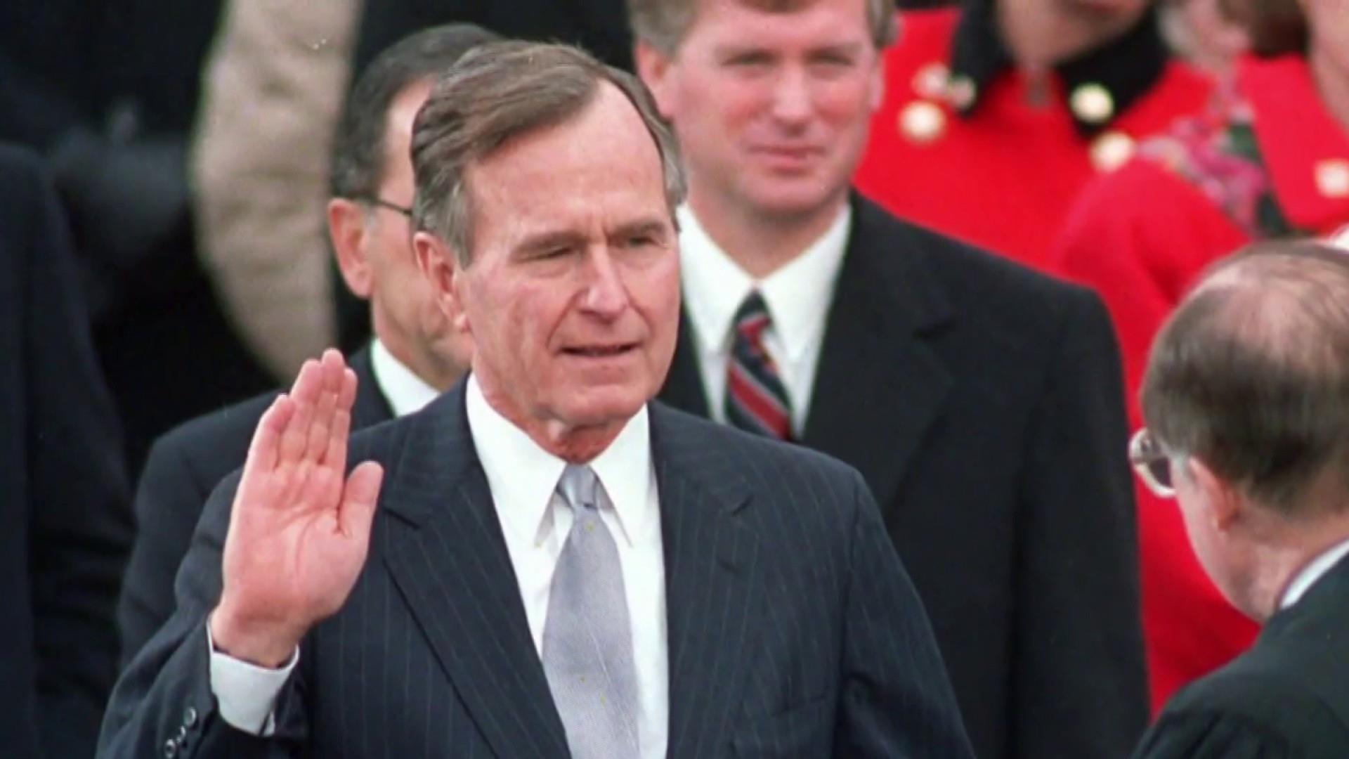 Former President George H W Bush Dies At Age 94
