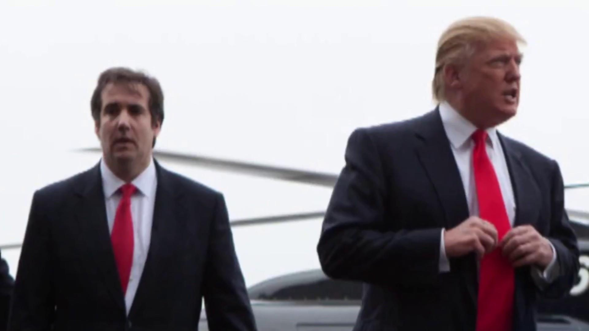 Trump denies he ordered Cohen to break the law