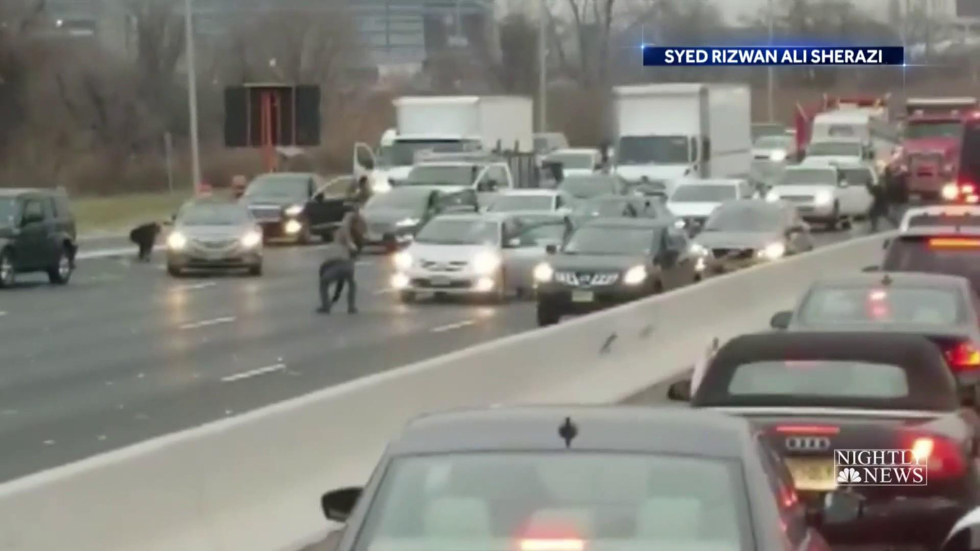 Nearly $300,000 still missing from armored truck in N.J. highway mishap