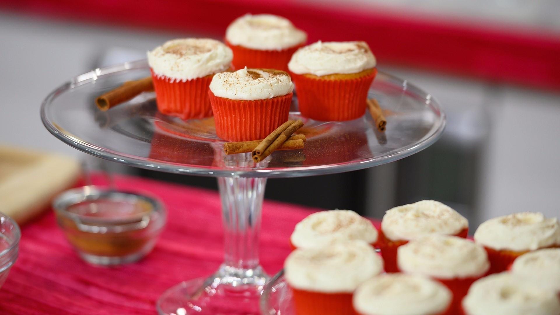 Make Elizabeth Chambers Hammer S Tasty Eggnog Cupcakes