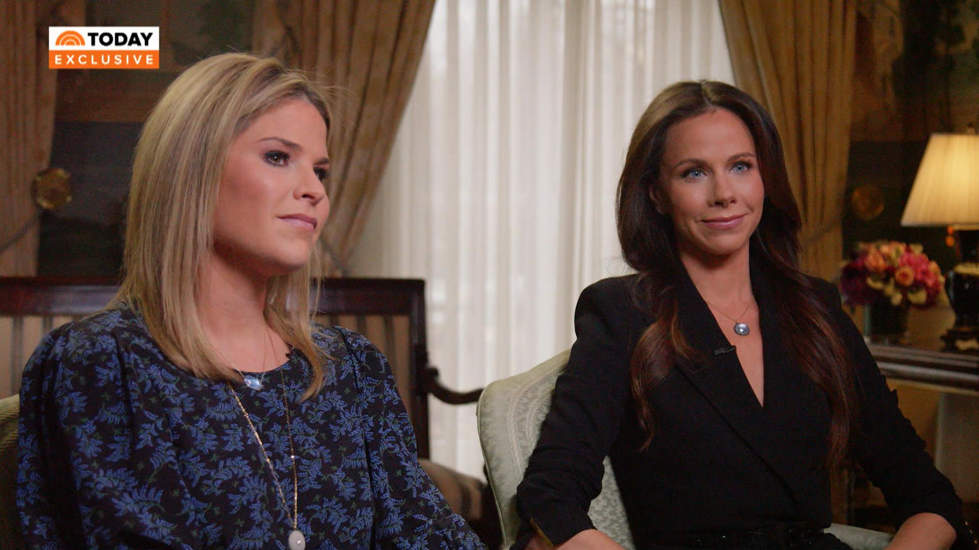 Jenna Bush Hager, Barbara Bush recall final moments with George ...
