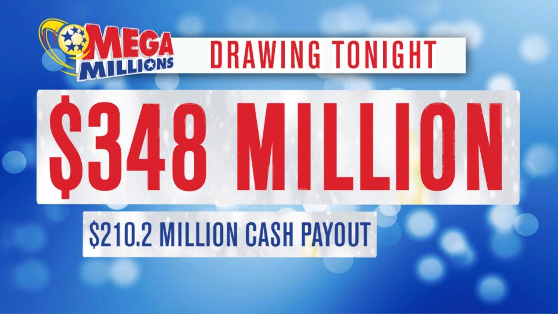 348 Million Up For Grabs In Last Mega Millions Drawing Of 2018