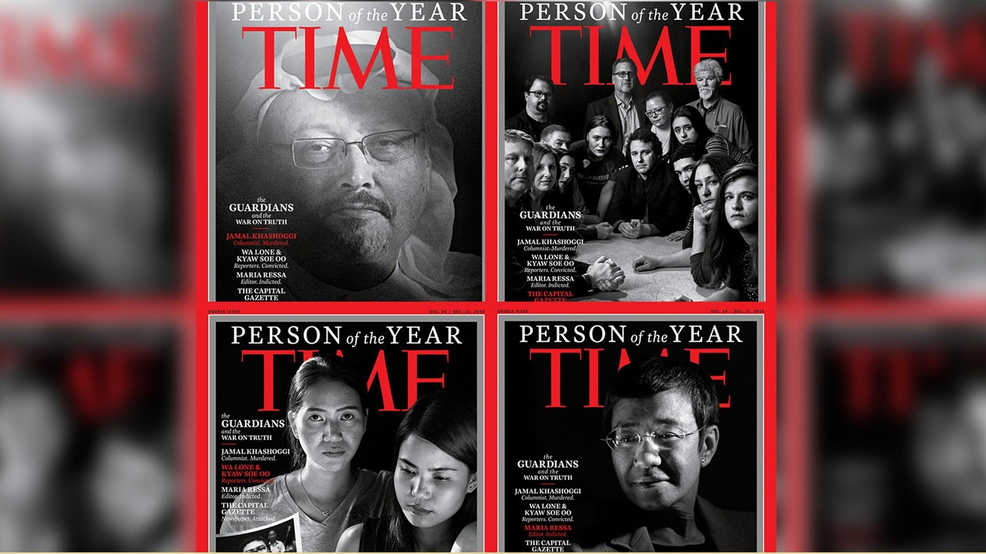 Time's 2018 'Person of the Year': Killed and imprisoned journalists
