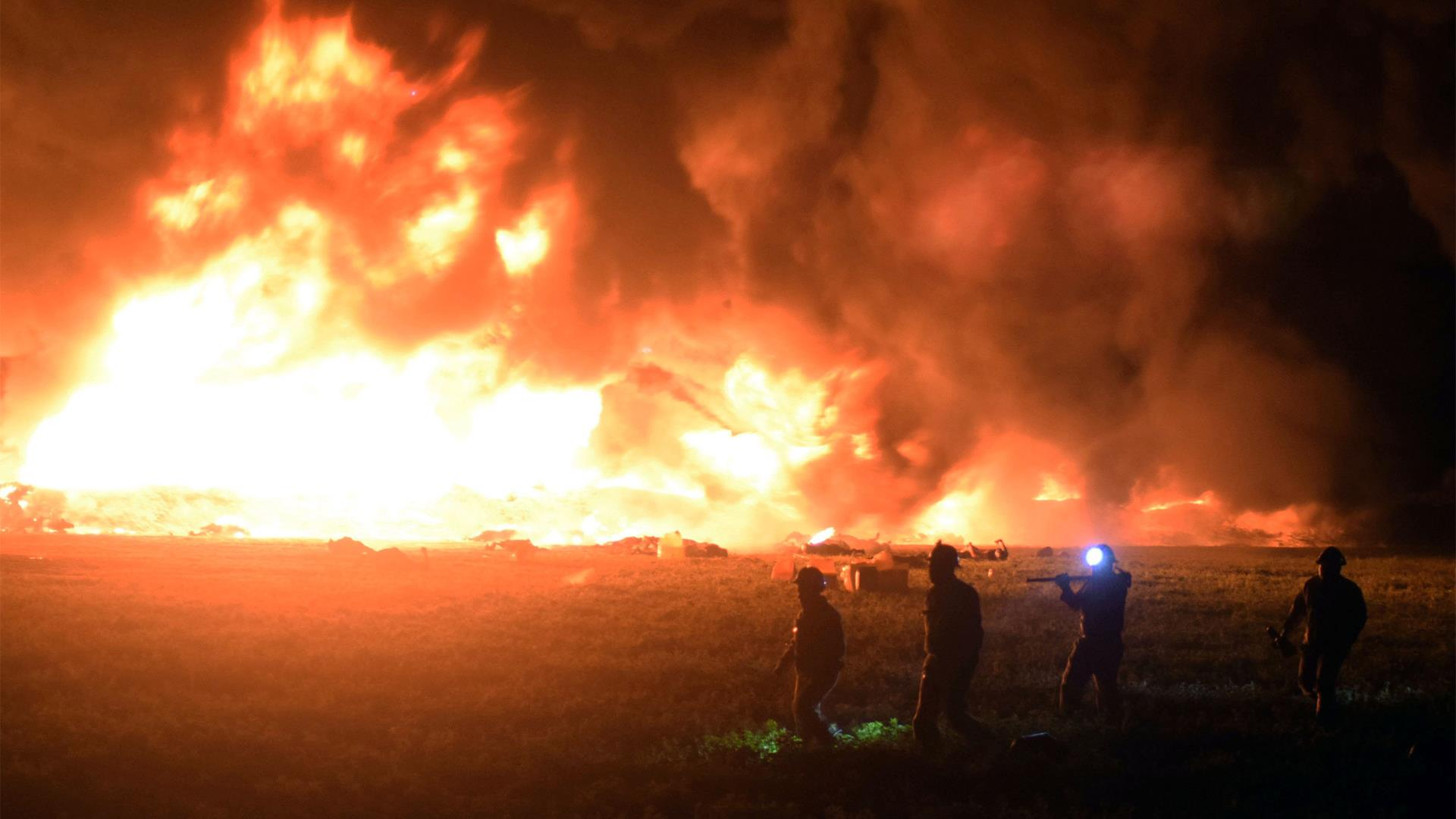 66 dead, 76 injured in ruptured pipeline explosion outside Mexico City