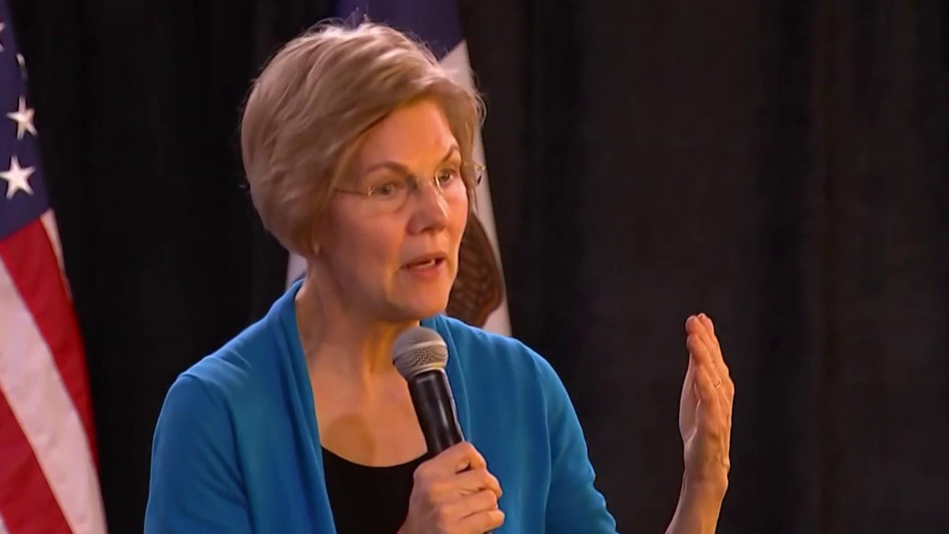 Warren kicks off 2020 taking voters' questions