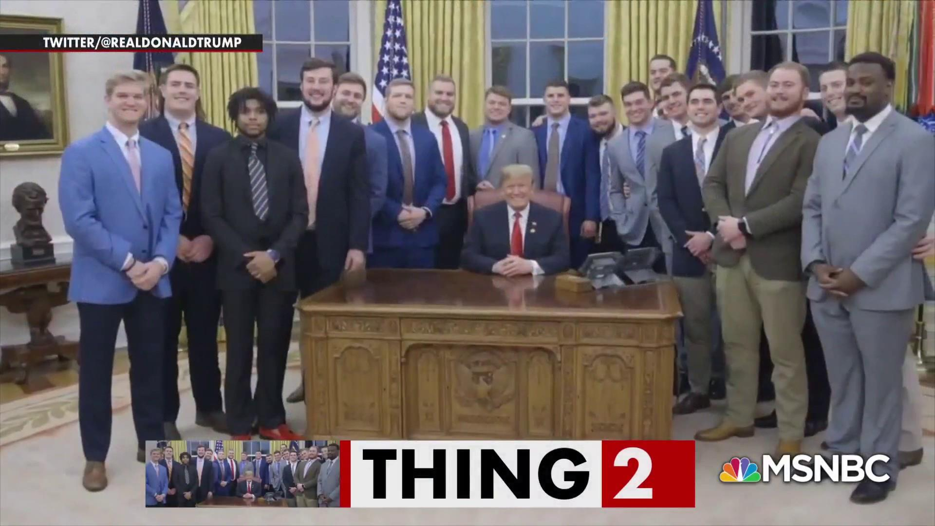 Turns out many Clemson players didn't join Trump for fast food