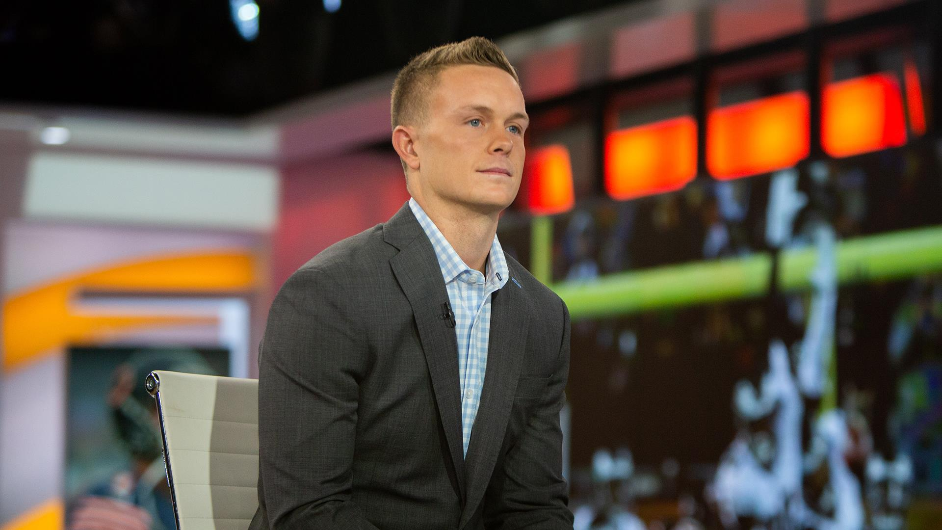 Image result for cody parkey interview Today show