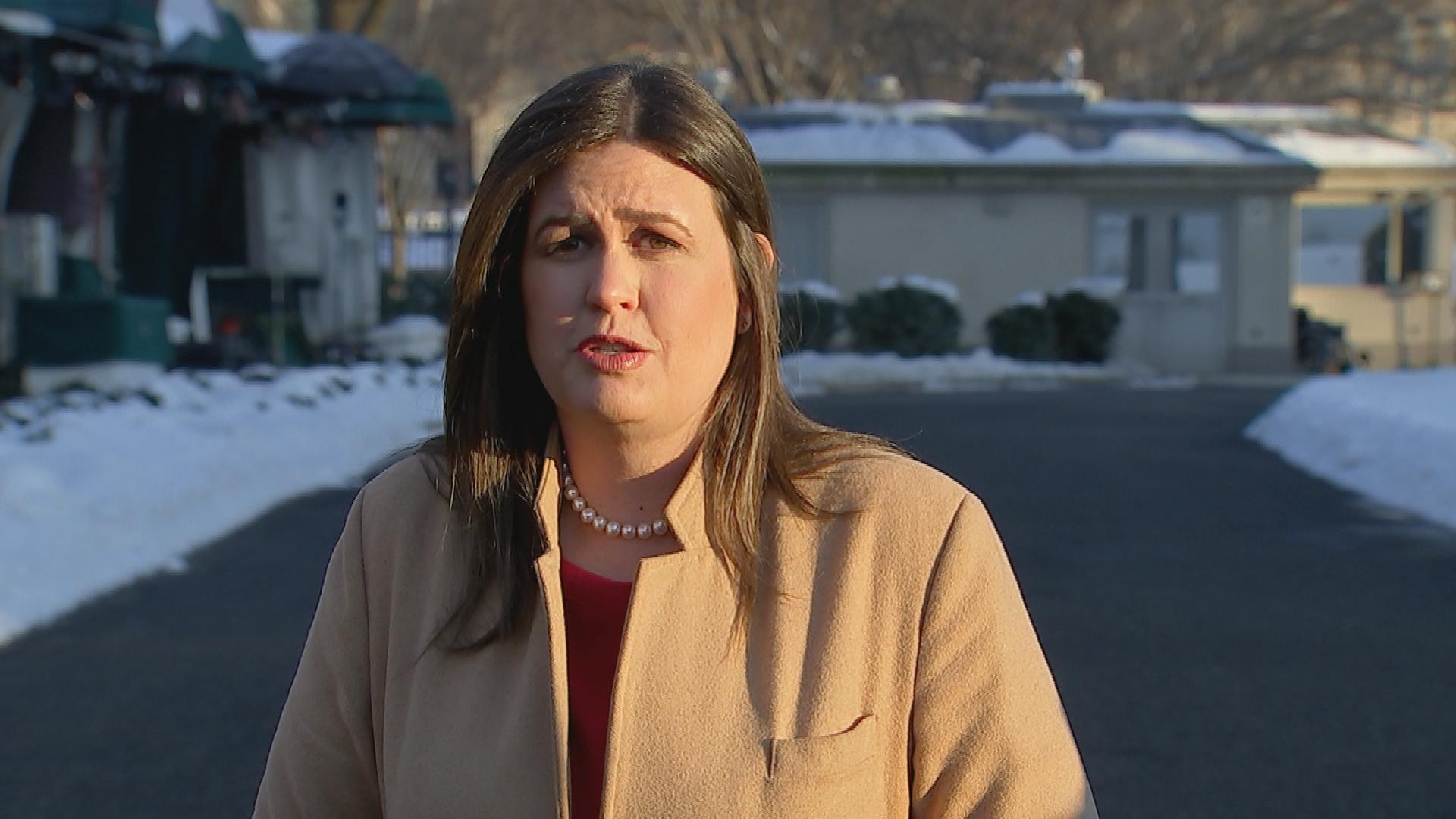 Sarah Sanders calls Rep. Steve King's white supremacy remarks 'abhorrent'