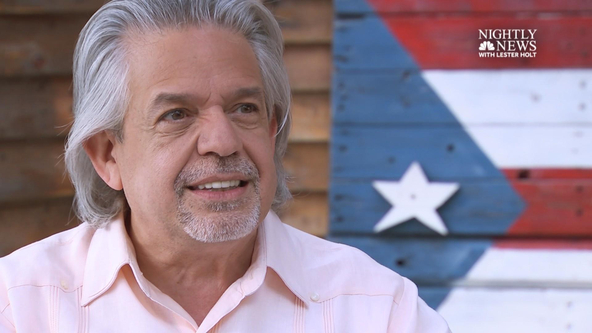 Lin-Manuel Miranda's father on the importance of 'Hamilton' in Puerto Rico
