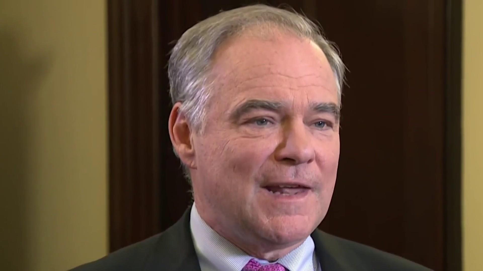 Senator Kaine slams GOP for 'enabling' Trump shutdown