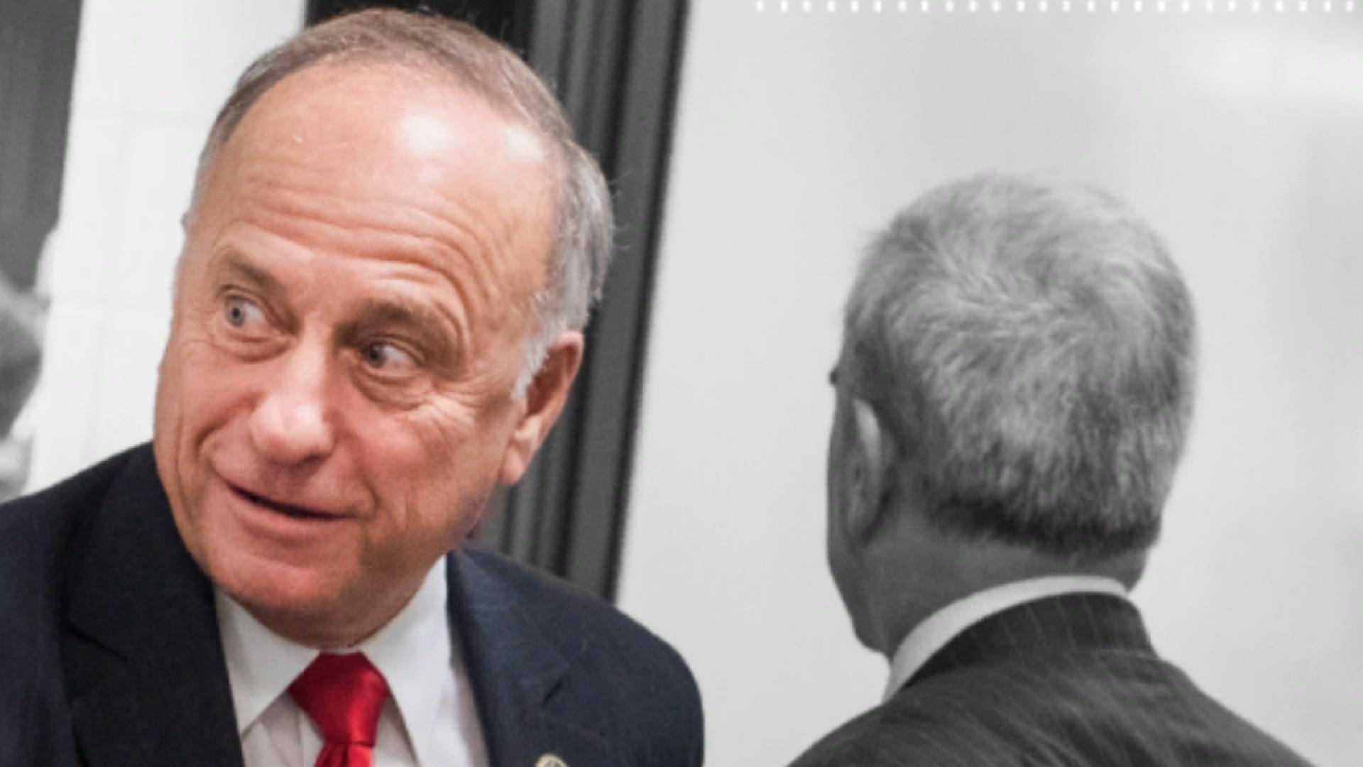 Steve King 'at peace' after rebuke of white supremacy remarks
