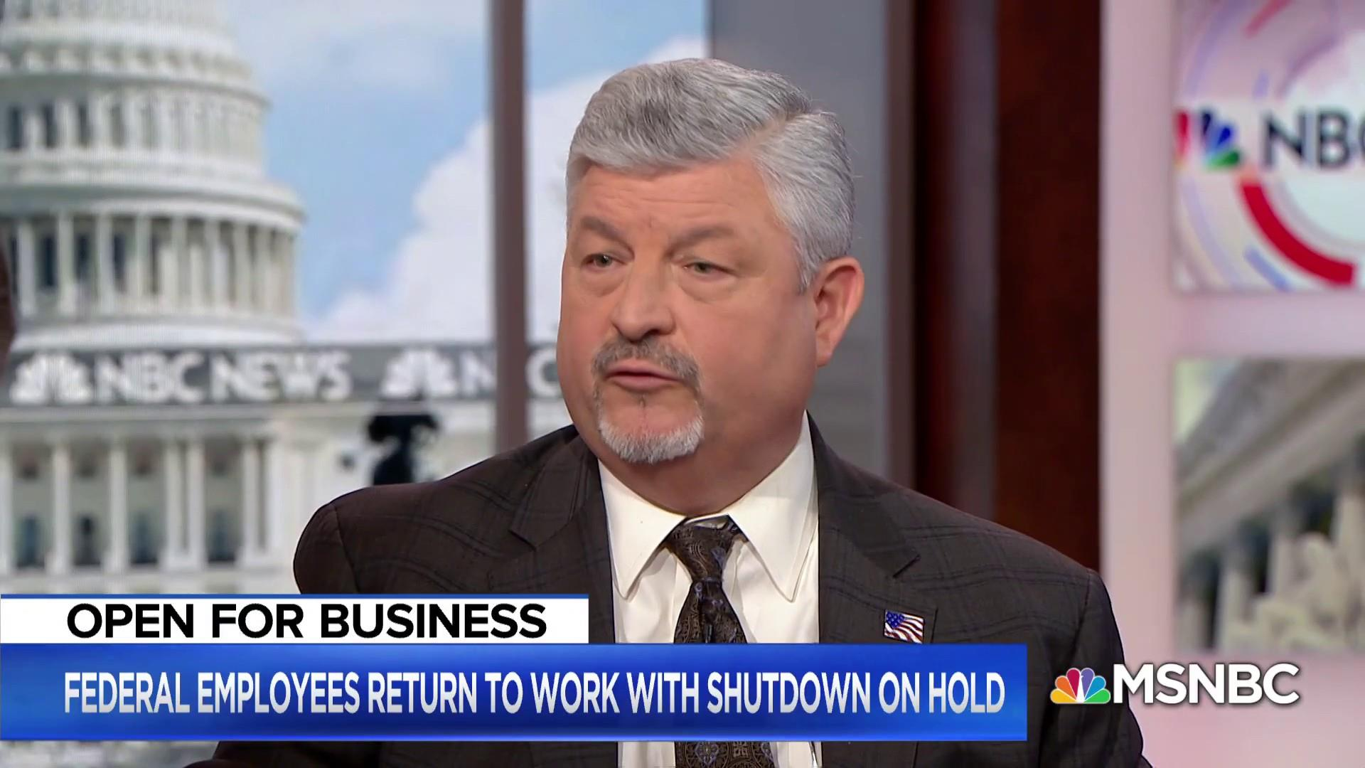 President of National Treasury Employees Union: Federal workers won't get paid until likely Thursday