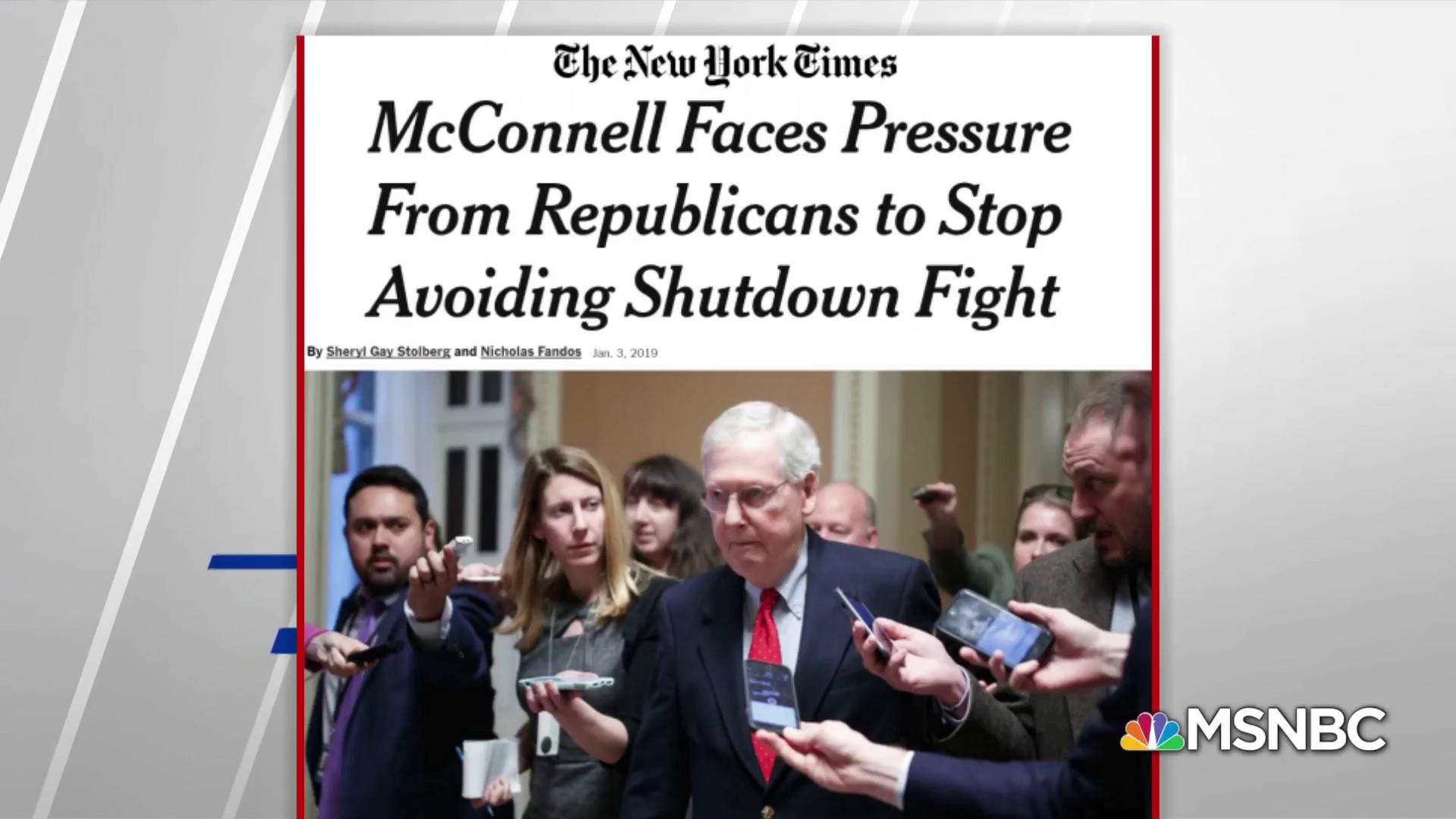Image result for photos of gop working to end shutdown