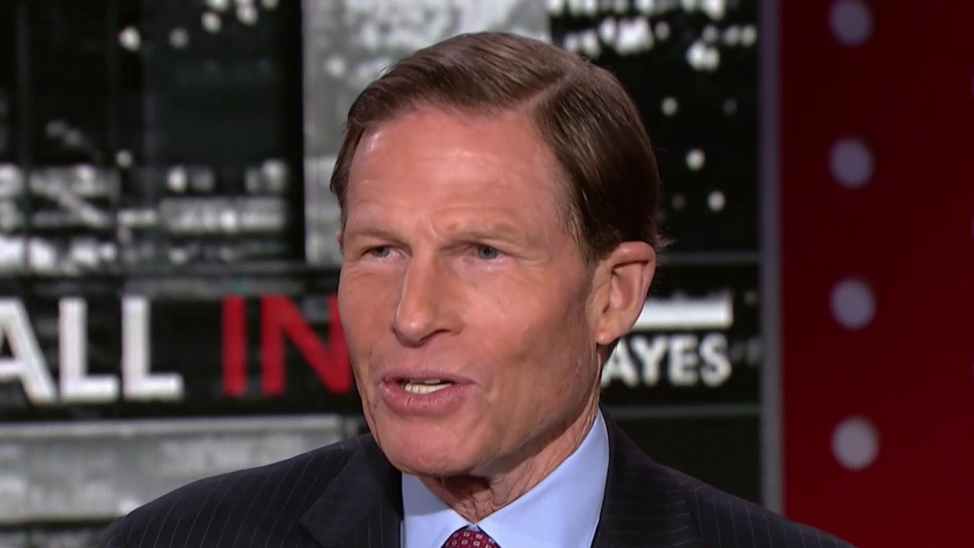Sen. Blumenthal: 'Our own military' lacks clear strategy on Syria