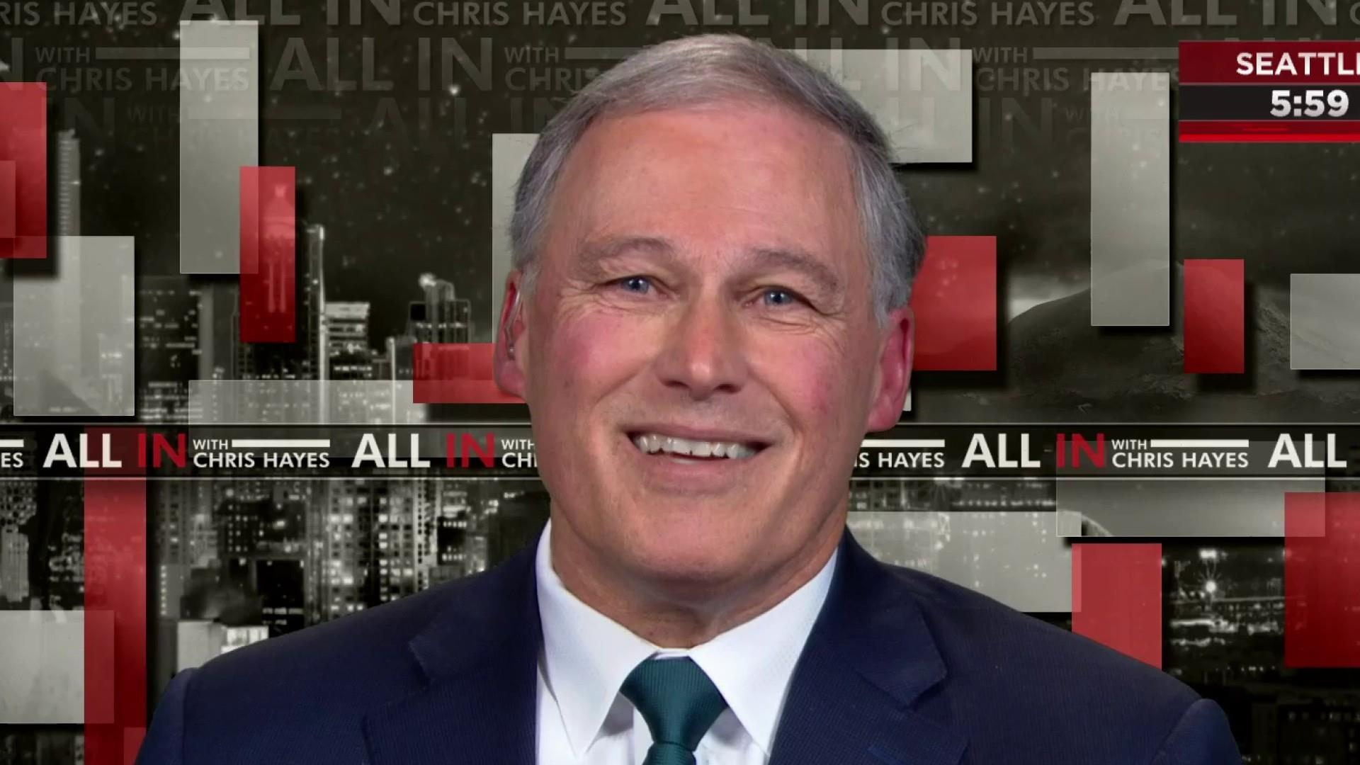 Inslee on his top priority for presidential run: climate