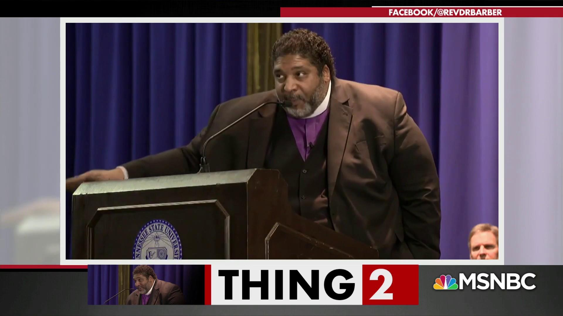 Rev. Dr. Barber blasts politicians for hypocrisy about MLK
