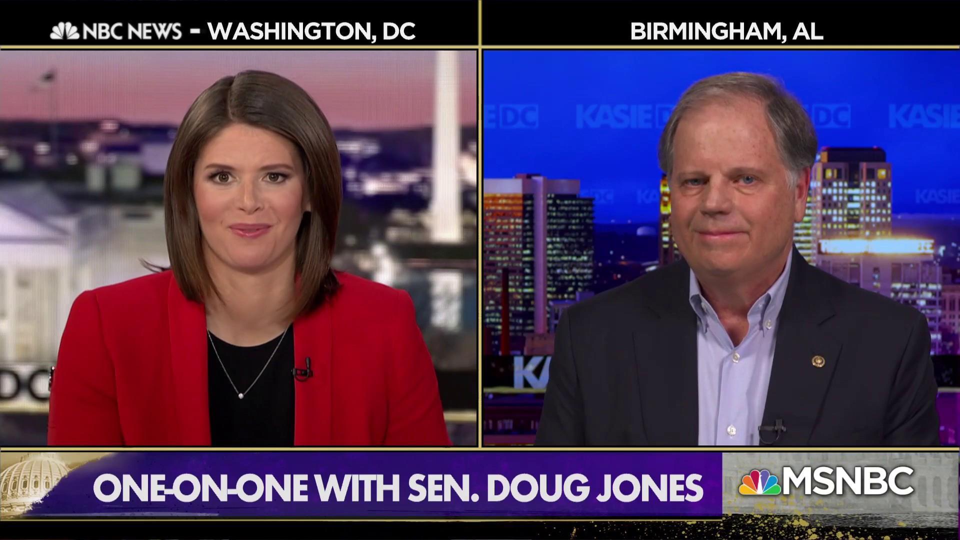 Sen. Doug Jones: Border negotiations may take longer than three weeks