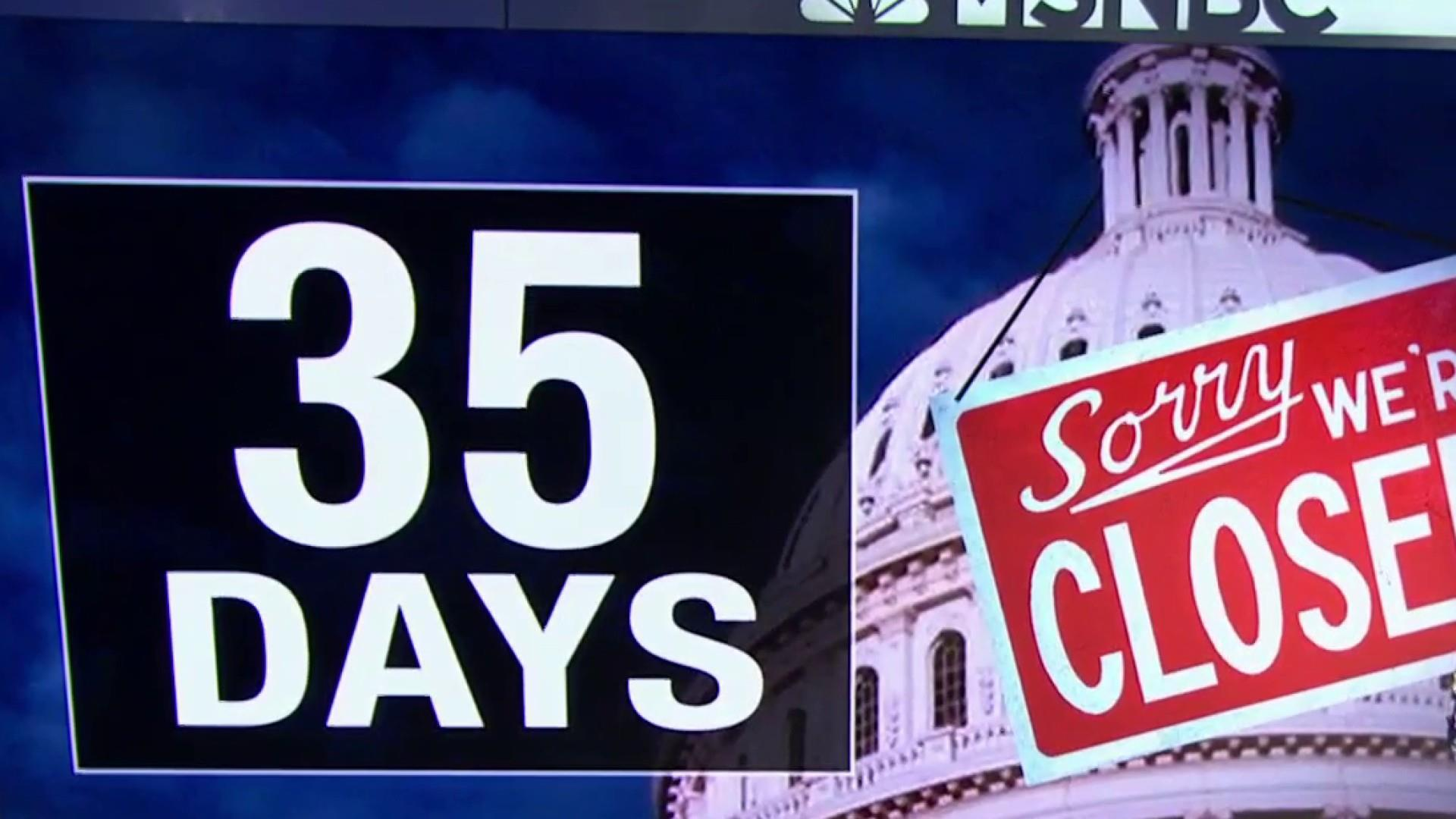 Joy Reid: Trump shut the government down for 35 days. The one thing that is true is he owns it