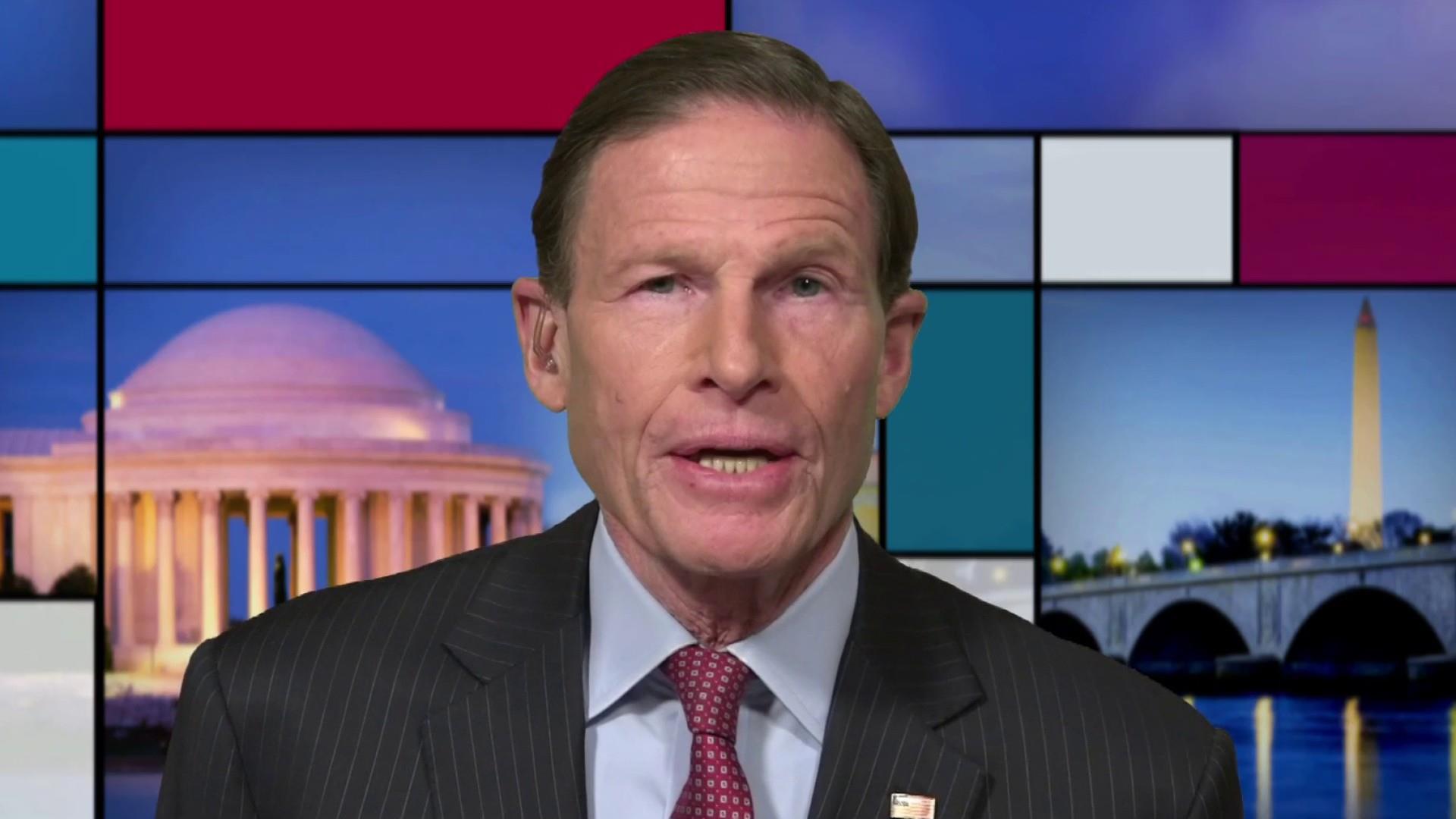Blumenthal questions truthfulness of Trump Jr.'s Senate testimony