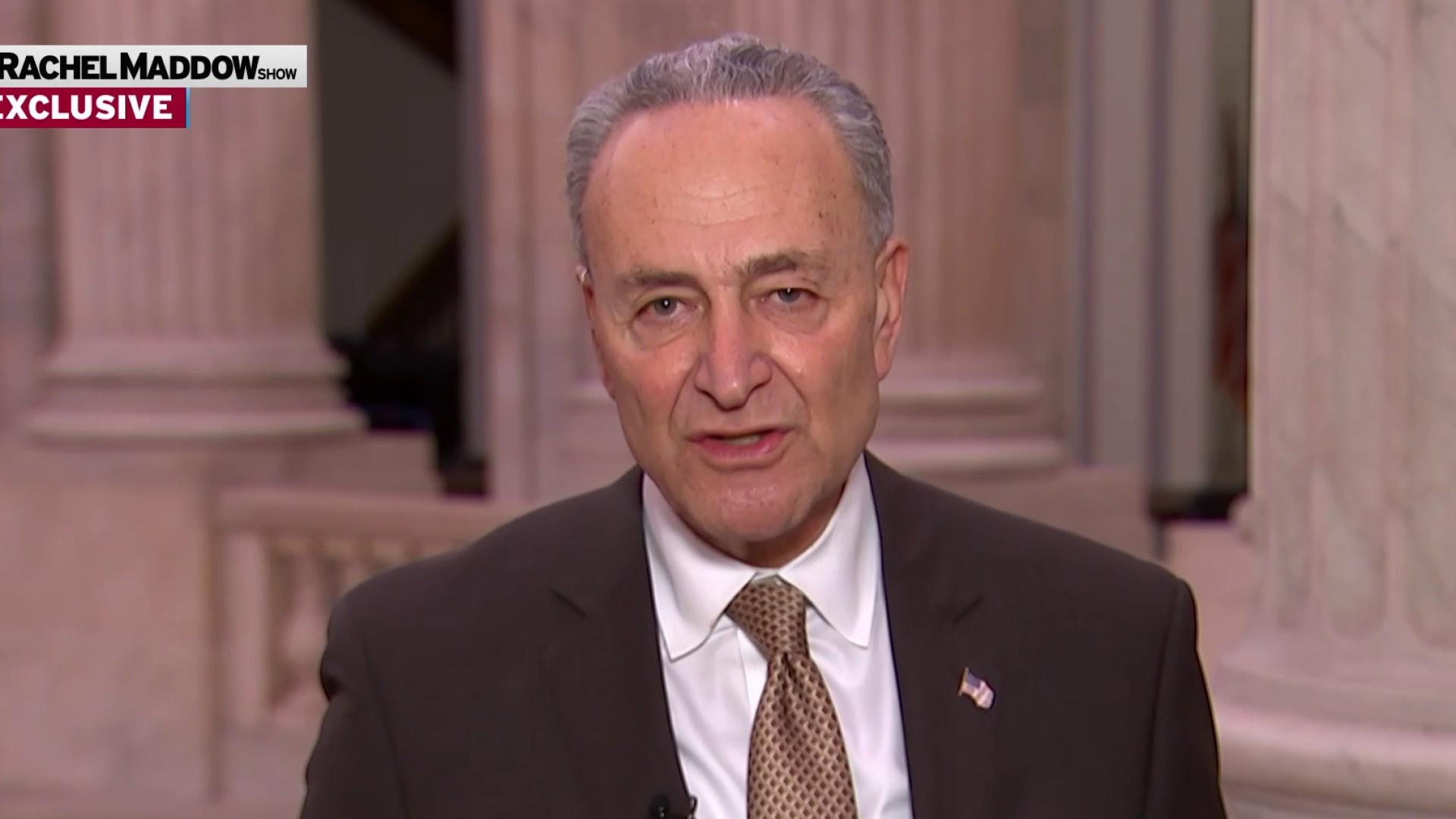Schumer: Barr fudged his answers on respecting Mueller probe