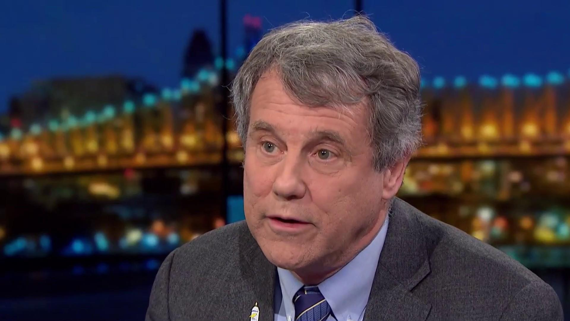 Sen. Brown: Trump long-term betrayal of workers seen in shutdown