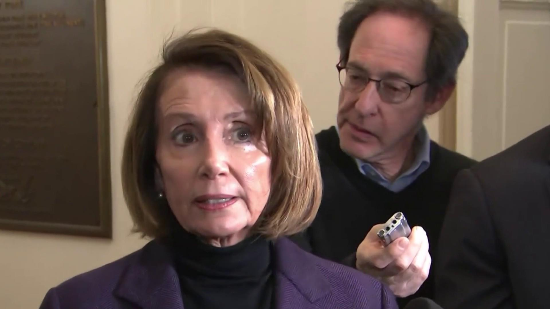 Pelosi on Trump retaliation claims: 'I don't think the president would be that petty, do you?'