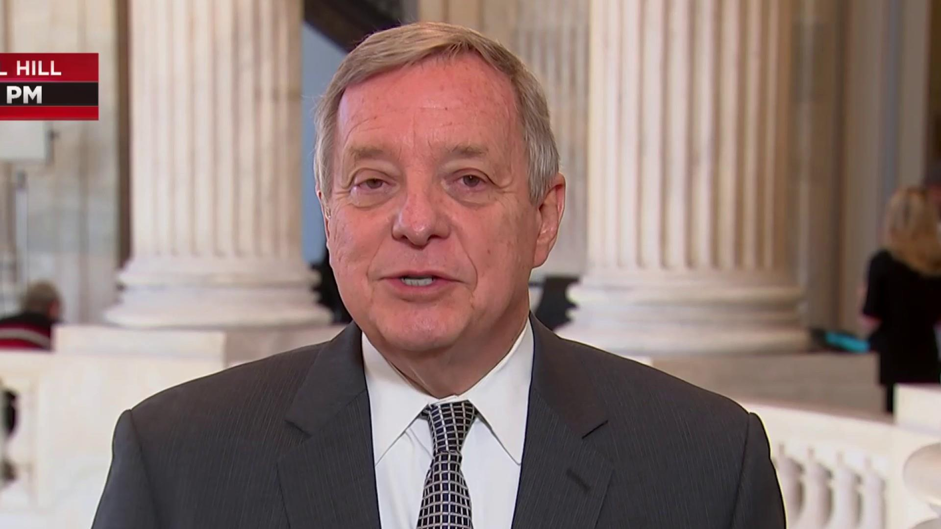Sen. Durbin: President acting as 'shutdown cheerleader' to rally Republicans