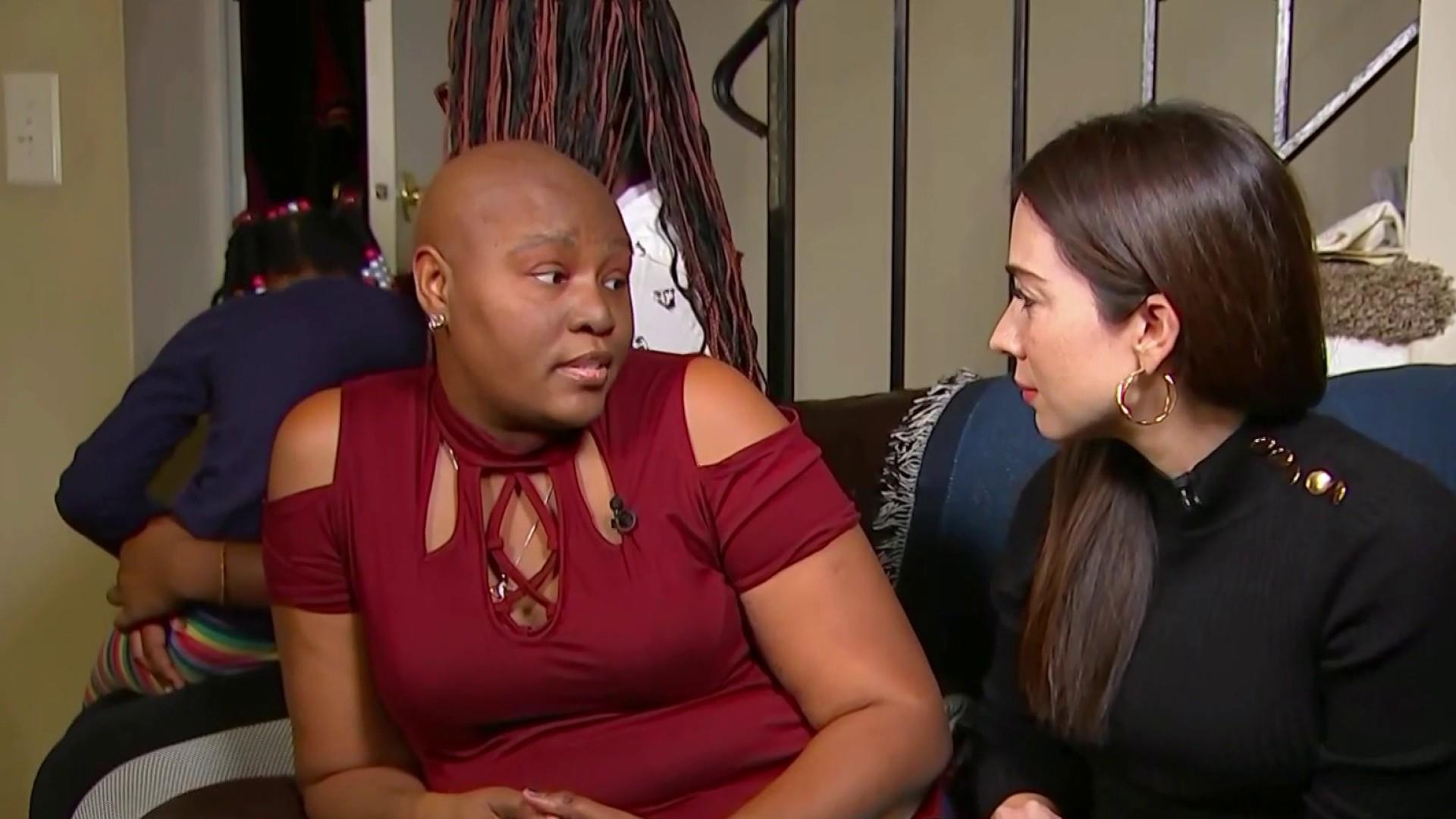 Furloughed worker concerned with rent, chemotherapy